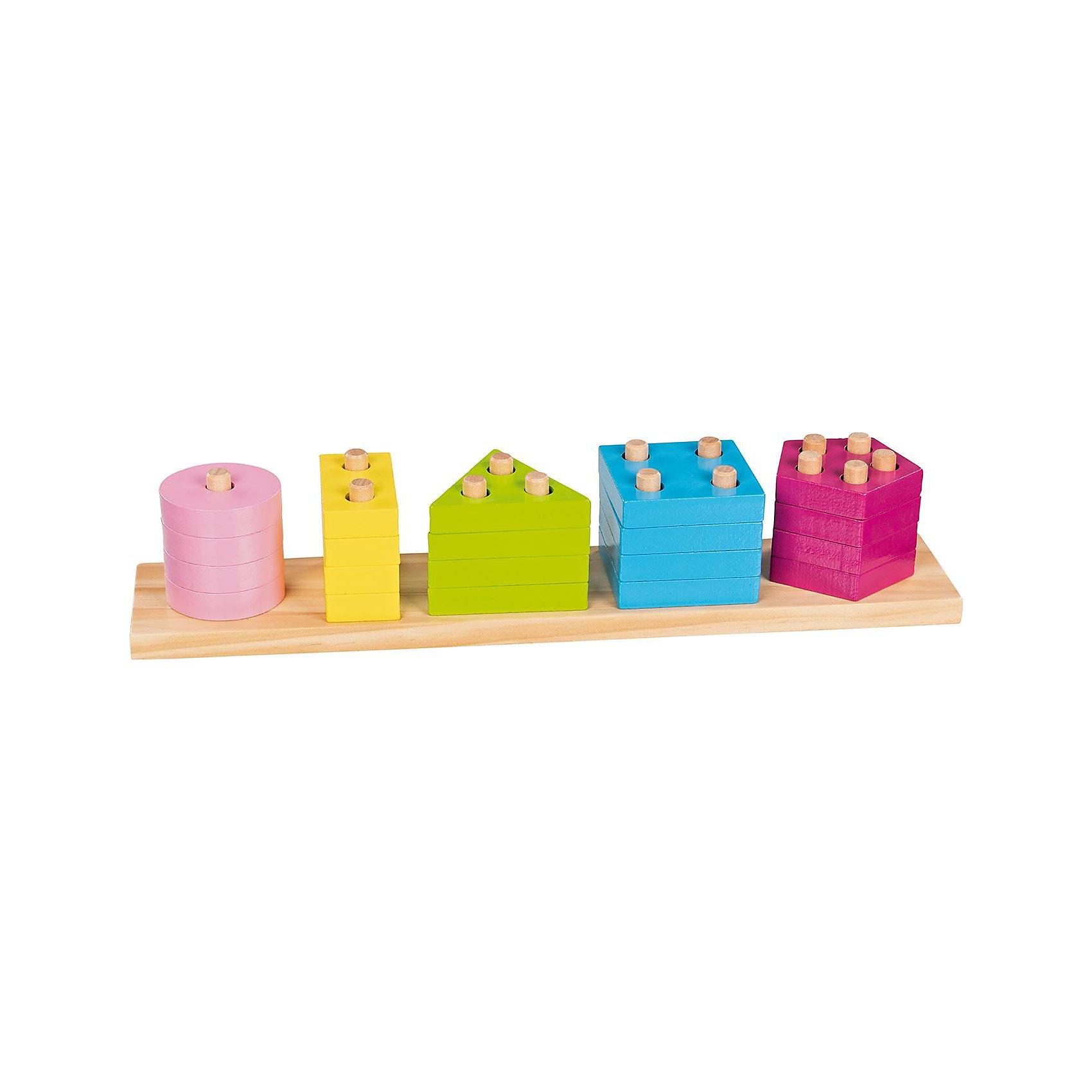 goki GOLLNEST & KIESEL Сортировщик Цветов и Форм goki мебель для кукольной гостиной 28 предметов