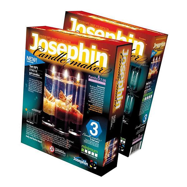 Josephine Гелевые свечи с коллекционными морскими раковинами №1Наборы для создания свечей<br>Josephine Гелевые свечи с коллекционными морскими раковинами №1, Фантазер<br><br>Характеристики:<br><br>• настоящие гелевые свечи своими руками<br>• уникальные ракушки в комплекте<br>• материал: гель, стекло, текстиль, пластмасса, песок<br>• размер упаковки: 22х18,5х5 см<br>• вес: 660 грамм<br>• в комплекте: 2 баночки с гелем, 3 отрезки фитиля, 3 стакана, цветной песок, ракушки, пластиковый нож, ложечка<br><br>Изготовление свечей в домашних условиях понравится не только детям, но и взрослым. В набор Josephine входит всё необходимое для создания оригинальных гелевых свечей. Подробная инструкция расскажет о том, как собрать свечи правильно. В результате у вас получатся 3 свечи в стаканчике, декорированные настоящими морскими ракушками. С этим набором вы проведете семейный вечер с пользой. А готовые свечи станут чудесным украшением любого праздника!<br><br>Josephine Гелевые свечи с коллекционными морскими раковинами №1, Фантазер вы можете купить в нашем интернет-магазине.<br><br>Ширина мм: 185<br>Глубина мм: 50<br>Высота мм: 220<br>Вес г: 700<br>Возраст от месяцев: 84<br>Возраст до месяцев: 144<br>Пол: Женский<br>Возраст: Детский<br>SKU: 2331304