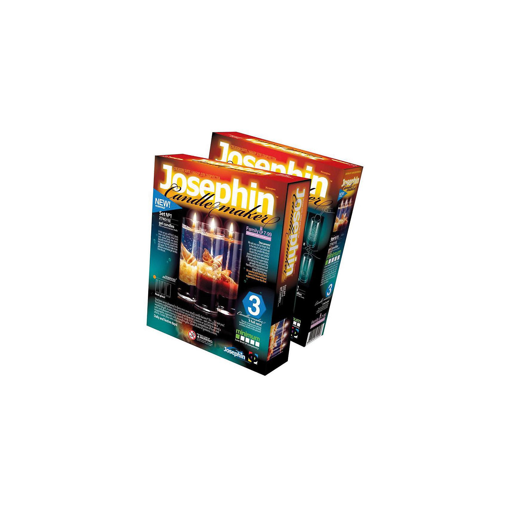 цены Фантазер Josephine Гелевые свечи с коллекционными морскими раковинами №1