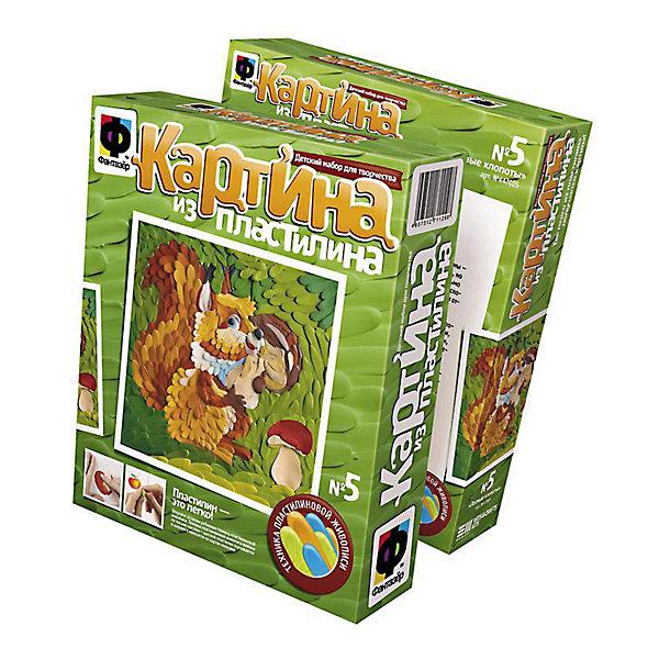 Фантазер Картина из пластилина, Лесные хлопоты  БелкаНаборы для лепки<br>Набор для лепки панно из пластилина БЕЛКА. В наборе:6 цветов, картонный шаблон, набор цветных заготовок, пошаговая инструкция, рамка.<br><br>Ширина мм: 185<br>Глубина мм: 50<br>Высота мм: 220<br>Вес г: 110<br>Возраст от месяцев: 84<br>Возраст до месяцев: 1188<br>Пол: Унисекс<br>Возраст: Детский<br>SKU: 2331341