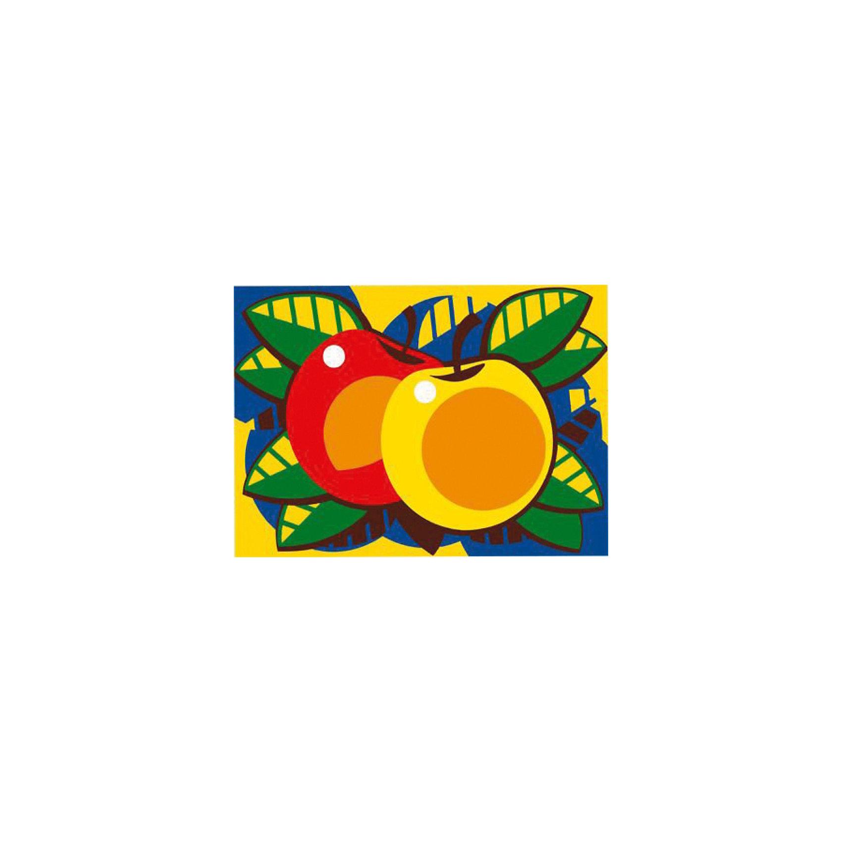 Фантазер Фреска ЯблокиНабор для создания картины из кварцевого песка ЯБЛОКИ. При помощи специальной трехслойной основы можно легко создать необычную песчаную картину. Процесс создания картины очень прост, а результат великолепен!<br>В комплект входит  3х-слойная основа с высеченным трафаретом, пакетики с цветным песком, картинка-шаблон с указанием номера цвета, заготовка рамки.<br><br>Дополнительная информация:<br><br>- размер картины без рамки: 17х13 см.<br>- материал: цветной полимерный песок, бумага, пластмасса <br>- размер упаковки (картонная коробка) (д/ш/в)  : 18х22х5 см.<br>- вес: 205 гр.<br><br>Фантазер Фреска Яблоки можно купить в нашем магазине.<br><br>Ширина мм: 185<br>Глубина мм: 50<br>Высота мм: 220<br>Вес г: 200<br>Возраст от месяцев: 60<br>Возраст до месяцев: 1188<br>Пол: Унисекс<br>Возраст: Детский<br>SKU: 2331357