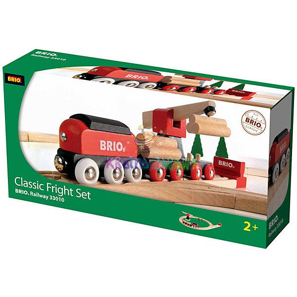 Железная дорога для малышей, с краном, BrioЖелезные дороги<br>Железная дорога для малышей, с краном, Brio (Брио) – игровой набор обязательно заинтересует вашего ребенка и не позволит ему скучать.<br>Первая классическая железная дорога для вашего малыша с подъемным краном и аксессуарами! В набор входят железнодорожное полотно (круг), поезд с двумя грузовыми вагонами, на которые нагружены брёвна, большой подъёмный кран, который может вращаться на 360 градусов, стрелка с тупиковым отрезком пути и два дерева. С помощью магнитного захвата подъёмный кран может нагружать и разгружать грузовые вагоны. Поезд двигается рельсам за счет механического воздействия. Благодаря магнитным сцепкам вагоны легко соединяются между собой и паровозом. Железнодорожная дорога очень надежна и проста в сборке, кроме того набор изготовлен из лучших, экологически чистых материалов, и абсолютно безопасен для детей. Игра с набором развивает моторику, логическое мышление, фантазию.<br><br>Дополнительная информация:<br><br>- Рекомендована детям от 2 лет<br>- В комплекте 18 элементов: секции железной дороги 8 штук, поезд с двумя грузовыми вагонами, бревна, подъёмный кран, стрелка, два дерева<br>- Материал: древесина, окрашенная нетоксичными красками<br>- Размер железнодорожного полотна: 45х51 см.<br>- Размер упаковки: 39 х 9 х 19 см.<br>- Вес: 1115 гр.<br><br>Железную дорогу для малышей, с краном, Brio (Брио) можно купить в нашем интернет-магазине.<br><br>Ширина мм: 390<br>Глубина мм: 95<br>Высота мм: 190<br>Вес г: 933<br>Возраст от месяцев: 24<br>Возраст до месяцев: 1164<br>Пол: Мужской<br>Возраст: Детский<br>SKU: 2331724