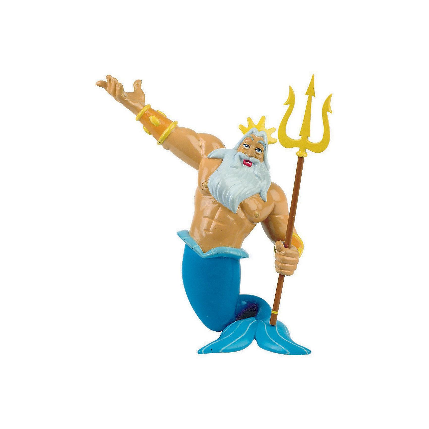 Фигурка Тритон,  DisneyПопулярные игрушки<br>Фигурка морского царя Тритона из мультфильма Уолта Диснея «Русалочка». Отец Ариэль, морской царь Тритон, по-королевски суровый, но справедливый. Он очень любит свою дочь, прекрасную Русалочку. Переживая за ее судьбу, морской царь мечтает о ее счастье. Фигурка морского царя поражает своим могуществом и силой. Большая белая борода, трезубец и корона – неизменные атрибуты царя Тритона. Игрушка выполнена из высококачественных нетоксичных материалов, безопасна для детей. <br><br>Дополнительная информация:<br><br>Размер:10см<br>Материал: термопластичный каучук высокого качества. <br> <br>Фигурку Тритон,  Disney можно купить в нашем магазине.<br><br>Ширина мм: 65<br>Глубина мм: 65<br>Высота мм: 103<br>Вес г: 39<br>Возраст от месяцев: 36<br>Возраст до месяцев: 96<br>Пол: Мужской<br>Возраст: Детский<br>SKU: 2341229