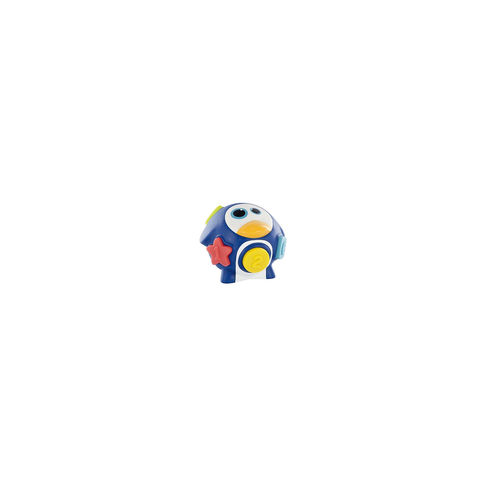Развивающая игрушка-сортер «Пингвин»  А104912, BabymoovИгрушки для ванны<br>Красочная развивающая игрушка Пингвин, Babymoov (Бэбимув), непременно привлечет внимание Вашего малыша. С ней можно играть как в детской, так и во время купания в ванной. Игрушка выполнена в виде забавного пингвина с отверстиями различных геометрических форм. Ребенку предлагается поместить в них соответствующие яркие фигурки (входят в комплект), так, чтобы они совпали. Размер объемных фигурок удобен для детской ручки. Игрушка выполнена из качественного безопасного пластика. Развивает зрение, мелкую моторику и логическое мышление малыша, знакомит его с формами, цветами, цифрами и буквами. Комплект упакован в прозрачную сумку на молнии.<br><br>Дополнительная информация:<br><br>- Материал: пластик.<br>- Размер упаковки: 18 х 18 х 15 см.<br>- Вес: 0,3 кг.<br><br>Развивающую игрушку-сортер Пингвин, Babymoov (Бэбимув), можно купить в нашем интернет-магазине.<br><br>Ширина мм: 11<br>Глубина мм: 139<br>Высота мм: 2<br>Вес г: 406<br>Цвет: mehrfarbig<br>Возраст от месяцев: 6<br>Возраст до месяцев: 18<br>Пол: Унисекс<br>Возраст: Детский<br>SKU: 2351951