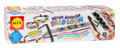 ALEX Набор для плетения бисером на станке Индейские узоры