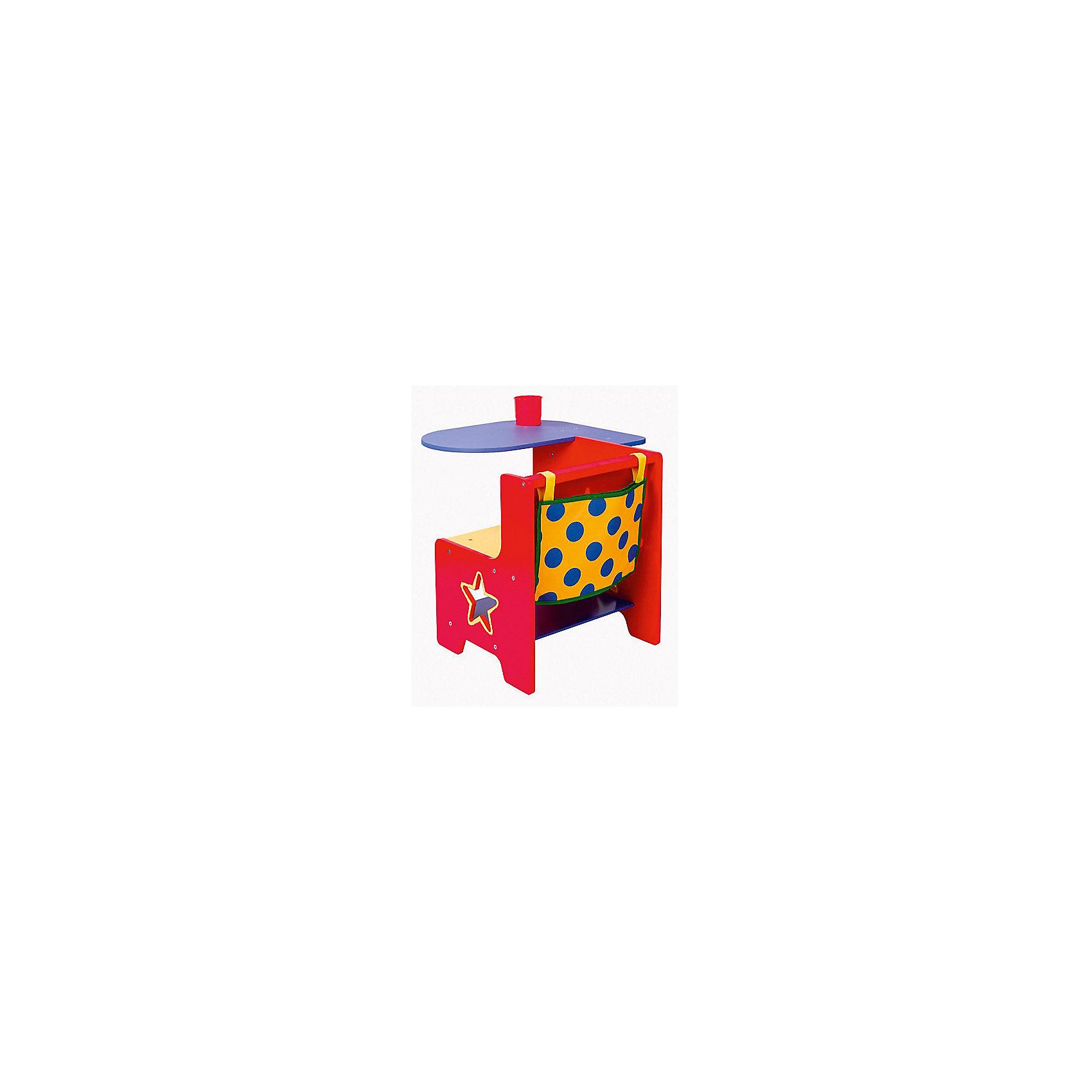 Детская парта 3, ALEXДеревянный стол-парта для маленьких художников и ваятелей!<br><br>Столешницу к сидению можно прикрепить с нужной стороны (с рассчетом на левшу или правшу). Она удобно поворачивается, для наибольшего комфорта ребенка. В столешицу вставляется стакан, в который можно поместить карандаши, фломастеры и другие необходимые предметы. <br>За спинкой сидения прикреплена сумка, в которой можно хранить бумагу и рисунки. <br><br>Дополнительная информация:<br><br>Размер упаковки (д/ш/в): 44 х 15 х 56 см.<br><br>Подарите ребенку экологически чистый и грамотно разработанный комфорт при развивающих занятиях!<br>Можно легко приобрести в нашем интернет-магазине!<br><br>Ширина мм: 440<br>Глубина мм: 150<br>Высота мм: 560<br>Вес г: 8081<br>Возраст от месяцев: 36<br>Возраст до месяцев: 1188<br>Пол: Унисекс<br>Возраст: Детский<br>SKU: 2353470