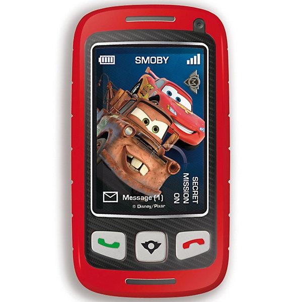 Телефон Шпиона, Тачки-2, SmobyНаборы шпиона<br>Smoby  Телефон Шпиона Тачки (Cars) 2 - телефон-слайдер со встроенным трансформатором, оформленный в стиле любимого диснеевского мультфильма Тачки (Cars)-2. Отличная игрушка для всех поклонников мультфильма и просто юных любителей поиграть в шпионов!<br><br>Телефон записывет голос и с помощью встроенного трансформатора меняет его до неузнаваемости. <br><br>Дополнительная информация:<br><br>- Слайдер. <br>- Кнопки вкл/выкл.<br>- Имитация звонка. <br>- 3 голосовых эффекта. <br>- Батарейки: ААА/LR3, 1,5 х 2 шт. (не входят в комплект).<br>- Материал: пластмасса.<br><br>Игрушка развивает воображение и фантазию вашего ребенка, дает ему возможность почувствовать себя в разных ролях.<br><br>Ширина мм: 190<br>Глубина мм: 170<br>Высота мм: 30<br>Вес г: 200<br>Возраст от месяцев: 36<br>Возраст до месяцев: 1164<br>Пол: Мужской<br>Возраст: Детский<br>SKU: 2356566