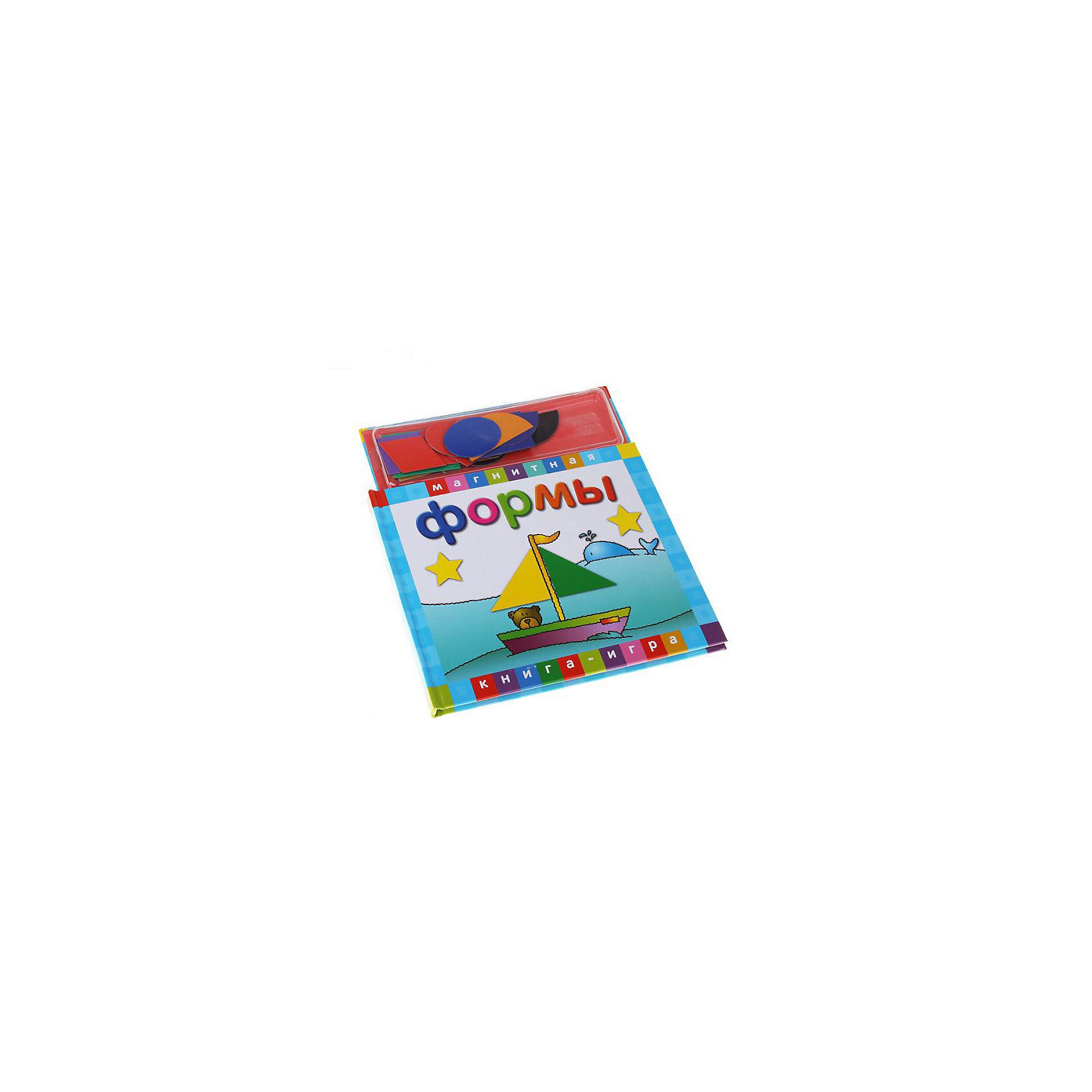 Магнитные книжки ФормыМагнитные книжки «Формы»<br>Этот набор также используют в качестве конструктора, поскольку из форм можно создавать различные картины.<br>Дополнительная информация:<br>В набор входит:<br>- Книга с магнитными страницами,<br>- магнитные картинки разных форм и цветов.<br>Размер упаковки (д/ш/в): 210 х 10 х 240 мм<br><br>Ширина мм: 210<br>Глубина мм: 10<br>Высота мм: 240<br>Вес г: 500<br>Возраст от месяцев: 36<br>Возраст до месяцев: 72<br>Пол: Унисекс<br>Возраст: Детский<br>SKU: 2358187