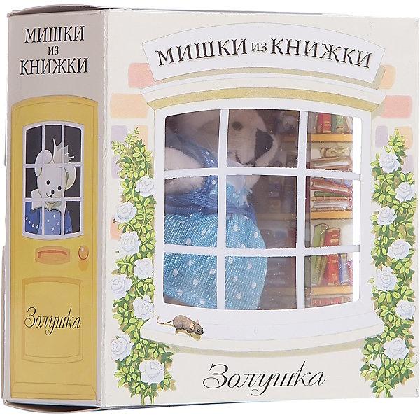 Мишки из книжки ЗолушкаШарль Перро<br>Мишки из книжки Золушка Войди в чудесный мир сказок и маленьких милых мишек! Открой дверку книжной лавки, и сказочный медведь подарит тебе книгу. А в этой книге волшебная сказка - «Золушка».<br>Дополнительная информация:<br><br>Состав набора:<br>• Книга со сказкой 48 стр., суперобложка, цветные иллюстрации <br>• Игрушечный мишка Золушка <br>• Картонная комнатка для мишки <br>Размер упаковки (д/ш/в): 80 х 50 х 95 мм<br><br>Ширина мм: 80<br>Глубина мм: 50<br>Высота мм: 95<br>Вес г: 170<br>Возраст от месяцев: 36<br>Возраст до месяцев: 72<br>Пол: Женский<br>Возраст: Детский<br>SKU: 2358230