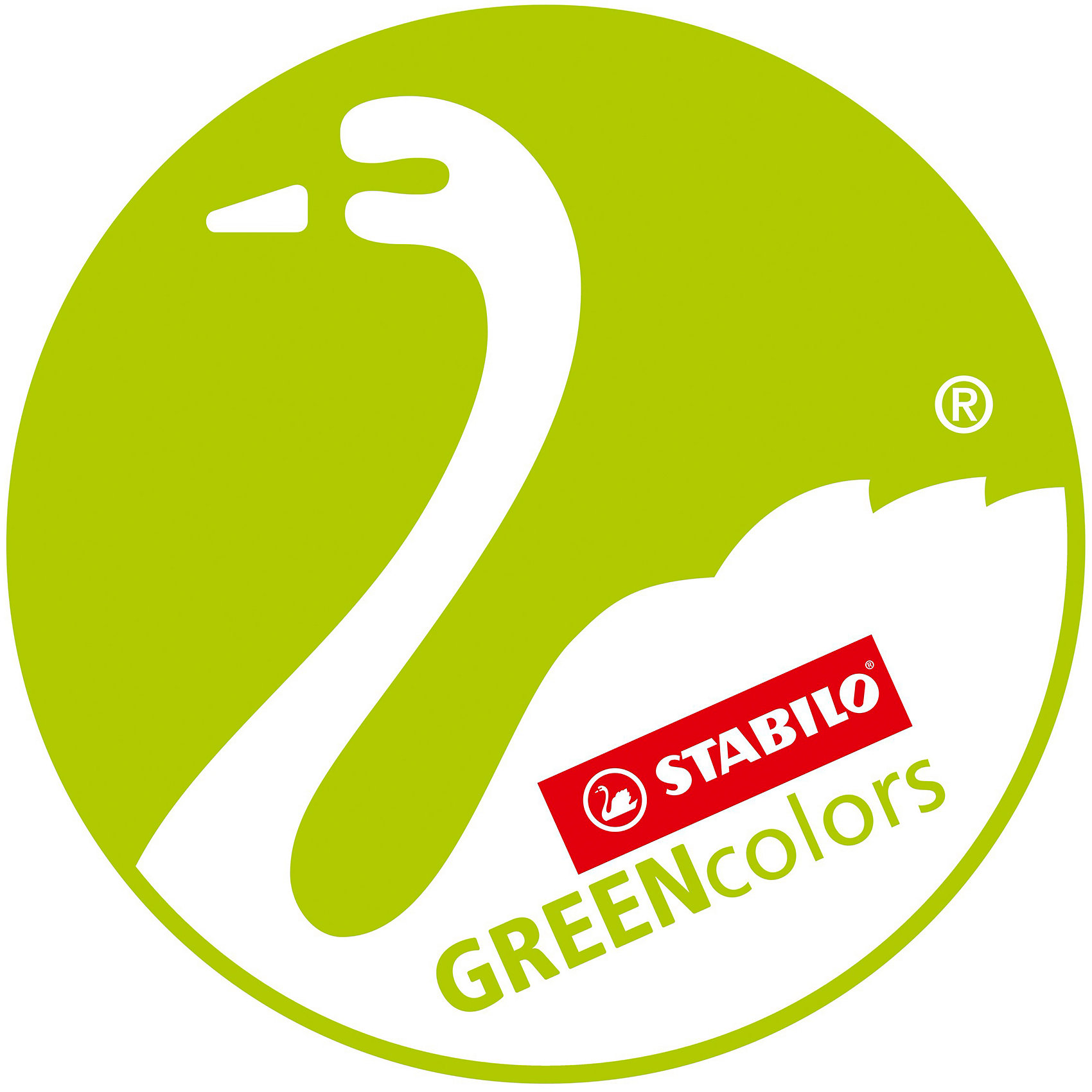 STABILO GREEN colors ����� ������� ����������, 12 ��.