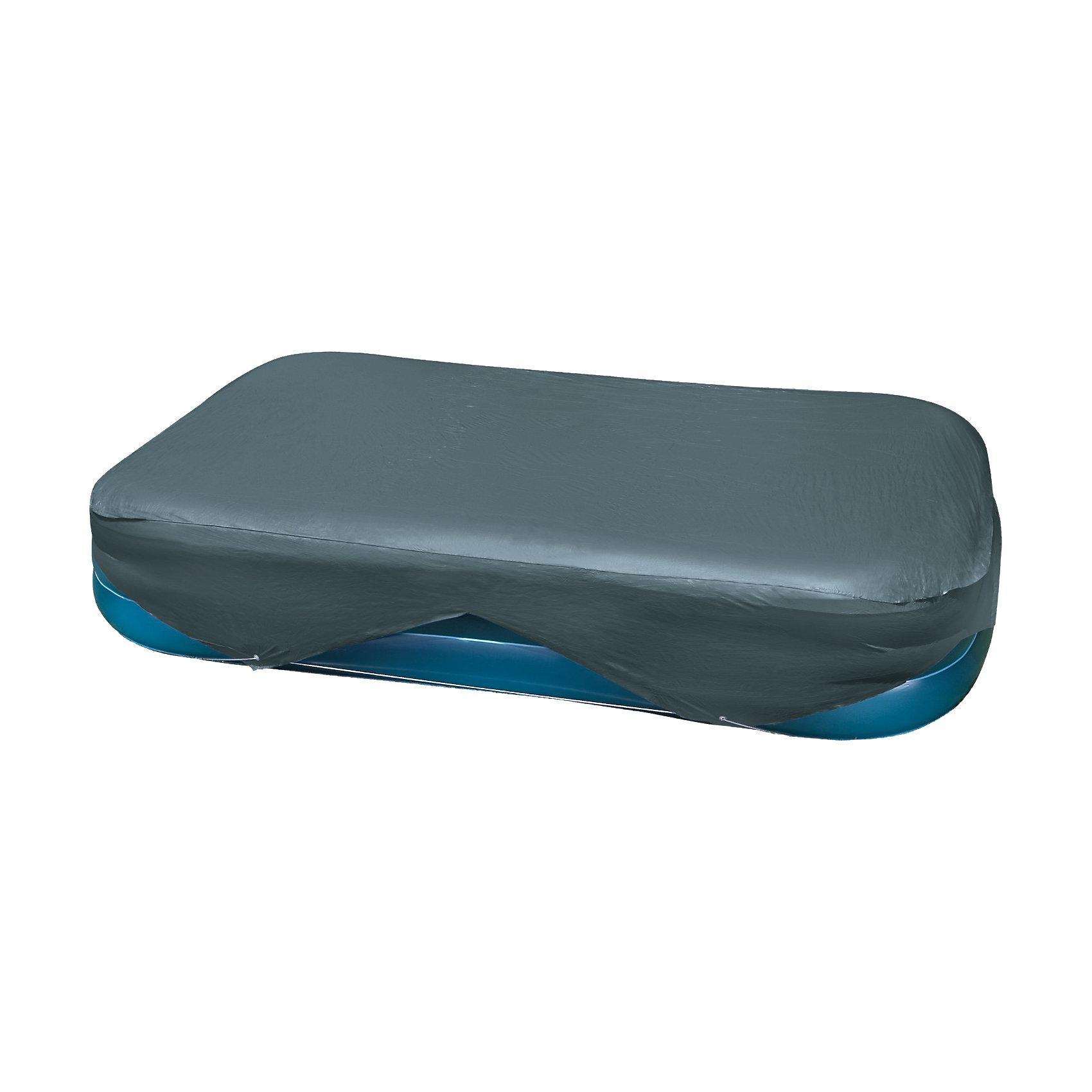 Тент-покрывало для бассейнов, IntexТент-покрывало, Intex (Интекс) - сохранит воду в бассейне чистой  и безопасной для здоровья.<br>Тент-покрывало - очень полезный и практичный аксессуар для семейных надувных бассейнов Intex (Интекс), размером 262х175 см и 305х183 см. Тент предохраняет бассейн от попадания в него пыли, грязи, листвы, уменьшает испарение воды, защищает стенки от выгорания. Позволяет воде лучше прогреваться и дольше удерживать тепло. Производитель рекомендует накрывать бассейн тентом на все время, пока бассейн не используют. Данный тент предназначен для бассейнов INTEX арт. 56483, 58484, 58485, 57484, изготовлен из прочного водонепроницаемого, водоотталкивающего материала, устойчивого к механическому воздействию. Фиксируется на бассейне канатом, пропущенным по краю тента.<br><br>Дополнительная информация:<br><br>- Материал: ПВХ толщина 0,18 мм.<br>- Размер упаковки: 26х24х8 см.<br>- Вес: 2,1 кг.<br><br>Ширина мм: 259<br>Глубина мм: 228<br>Высота мм: 81<br>Вес г: 1969<br>Возраст от месяцев: -2147483648<br>Возраст до месяцев: 2147483647<br>Пол: Унисекс<br>Возраст: Детский<br>SKU: 2379966