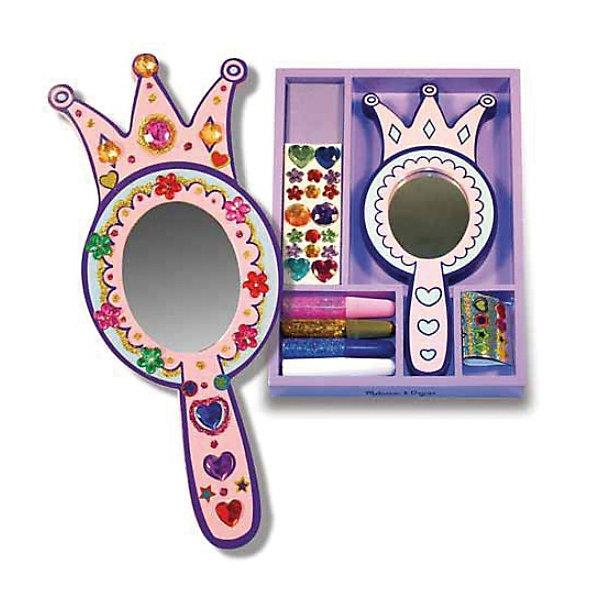 Набор для творчества Зеркало принцессыНаборы стилиста и дизайнера<br>Замечательный набор серии «Творчество», хранящийся в удобном фиолетовом деревянном ящичке. <br><br>В набор входит зеркало в деревянной оправе, клей с блестками, прозрачные камушки различной формы и цвета. Благодаря такому набору, Ваша маленькая прелестница легко сможет создать свое уникальное и неповторимое Зеркало принцессы.<br><br>Дополнительная информация:<br><br>- В комплекте зеркало в деревянной оправе, клей с блестками, прозрачные камушки<br>- Размер: 17 х 25 х 2 см<br><br>Ширина мм: 20<br>Глубина мм: 250<br>Высота мм: 170<br>Вес г: 310<br>Возраст от месяцев: 48<br>Возраст до месяцев: 84<br>Пол: Женский<br>Возраст: Детский<br>SKU: 2401067