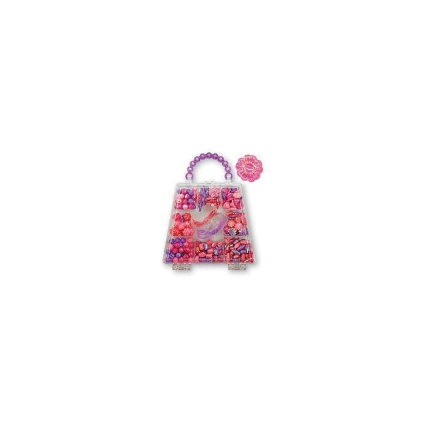 Melissa &amp; Doug Набор бусин Безупречный лепестокПереливающийся бисер розового и лавандового оттенков и сказочные, красочные пластиковые бусинки хранятся в прозрачном пластиковом кошельке.  <br><br>Они прекрасно нанизываются на шнуры и станут прекрасным помощником Вашему ребенку в развитии мелкой моторики и сенсорного внимания. <br><br>Набор упакован в оригинальную пластиковую сумочку с 9 отделениями, удобную для хранения. <br><br>Более 150 бусин имеют самые разнообразные формы. Красочные шнуры в комплекте. Будет чем заняться на вечеринках и в дождливую погоду!<br><br>Дополнительная информация:<br><br>- Размер: 13х16х2 см <br>- Материал: пластмасса<br><br>Ширина мм: 20<br>Глубина мм: 160<br>Высота мм: 130<br>Вес г: 280<br>Возраст от месяцев: 72<br>Возраст до месяцев: 120<br>Пол: Унисекс<br>Возраст: Детский<br>SKU: 2401086
