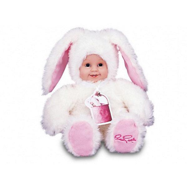 Мягкая кукла UNIMAX  Anne Geddes Детки-зайчикиКуклы<br>Великолепная мягкая игрушка Детки-зайчики превосходно подойдет в качестве подарка не только ребенку, но и юной романтичной особе. Милый белый зайчик с веселым личиком ребенка выполнен из высококачественных материалов в двойной цветовой гамме с сочетанием белого и нежно-розового цветов. <br><br>Дополнительная информация:<br><br>- Высота зайчика - 30 см. <br>- Дизайн игрушки разработан всемирно известным фотографом Anne Geddes.<br><br>Ширина мм: 140<br>Глубина мм: 360<br>Высота мм: 250<br>Вес г: 623<br>Возраст от месяцев: 36<br>Возраст до месяцев: 1188<br>Пол: Женский<br>Возраст: Детский<br>SKU: 2401090