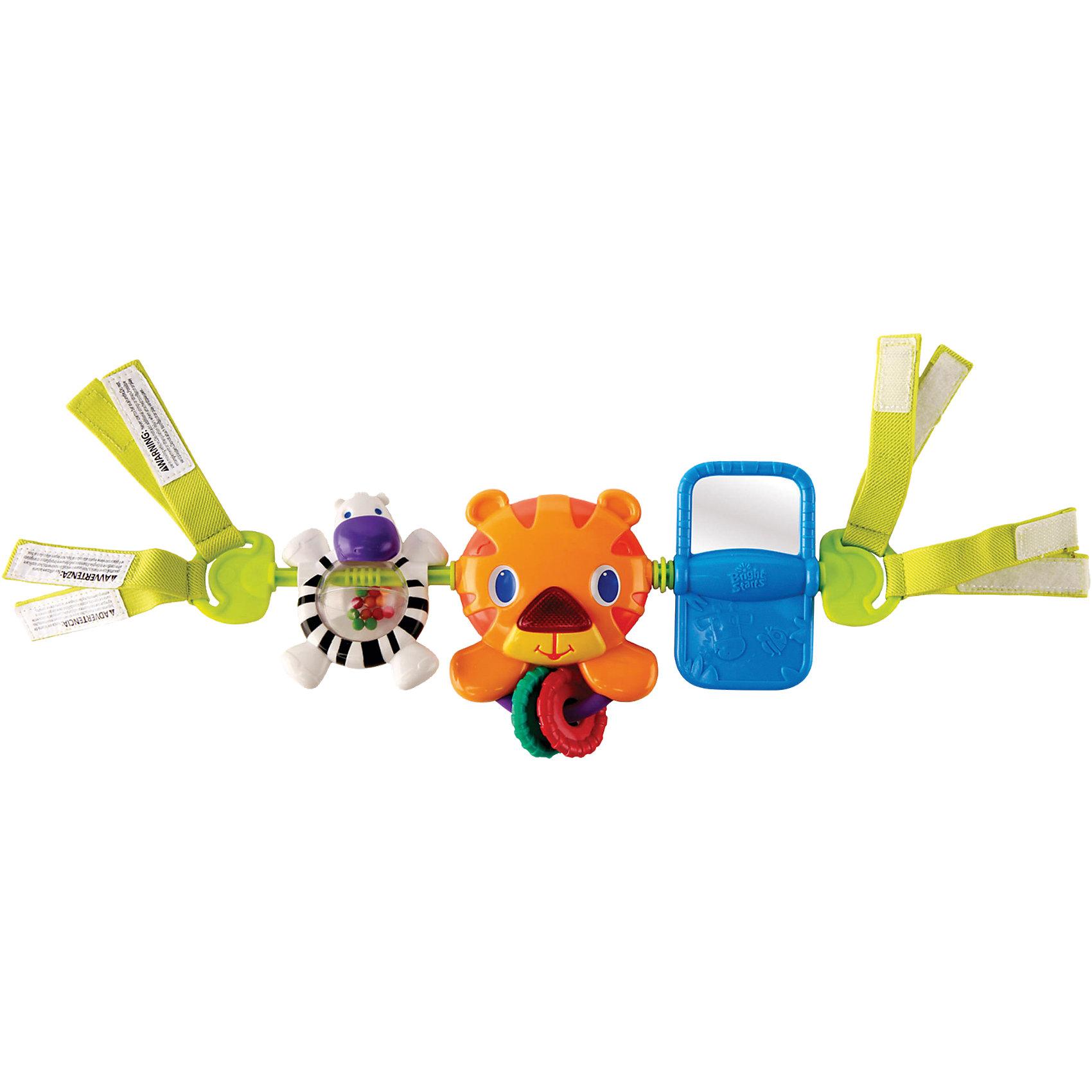 Bright Starts Развивающая игрушка для коляски Тигренок Bright Starts игрушка подвеска bright starts развивающая игрушка щенок