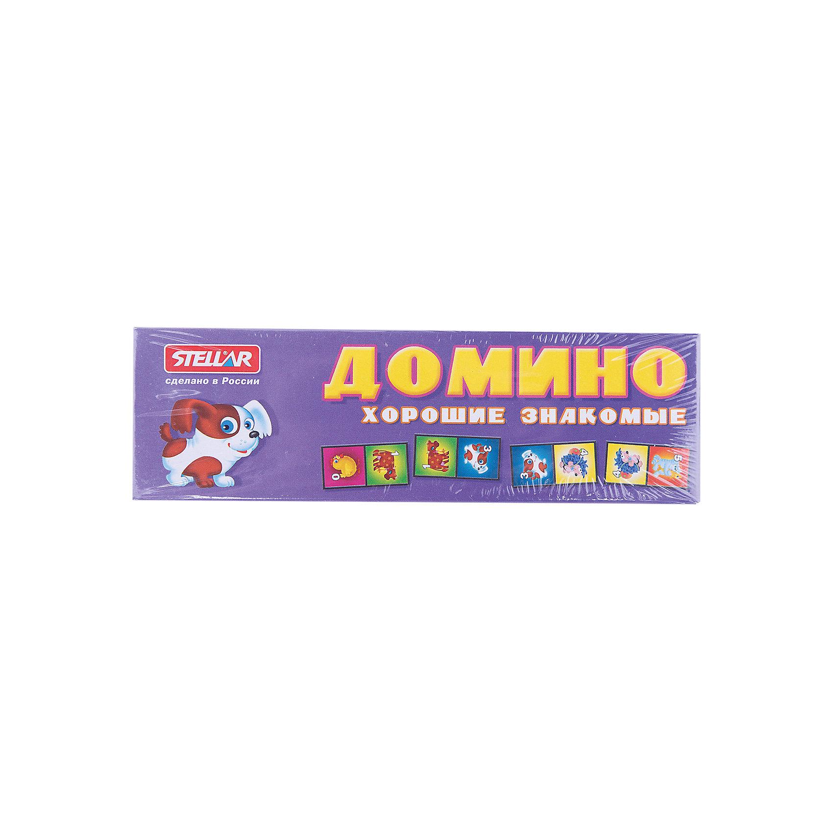 Домино Забавные животные, СтелларНастольные игры<br>Домино 5 Забавные животные, Стеллар (Stellar) — детский аналог традиционной игры Домино. Игра включает комплект пластиковых костяшек домино с изображением домашних животных и цифр от 0 до 6.<br><br>Игра в Домино развивает логическое мышление и ассоциативную память, тренирует внимание и сосредоточенность, совершенствует умение оценивать ситуацию, умение классифицировать предметы, сравнивать и находить соответствия.<br><br>Домино «Забавные животные» - прекрасный вариант для проведения семейного досуга!<br><br>Дополнительная информация:<br><br>- В комплекте: 28 фишек<br>- Материал: пластмасса, бумага<br>- Размер упаковки: 180 х 20 х 55 мм<br>- Вес: 80 г.<br><br>Домино 5 Забавные животные, Стеллар (Stellar) можно купить в нашем интернет-магазине.<br><br>Ширина мм: 180<br>Глубина мм: 20<br>Высота мм: 55<br>Вес г: 77<br>Возраст от месяцев: 36<br>Возраст до месяцев: 1188<br>Пол: Унисекс<br>Возраст: Детский<br>SKU: 2407033