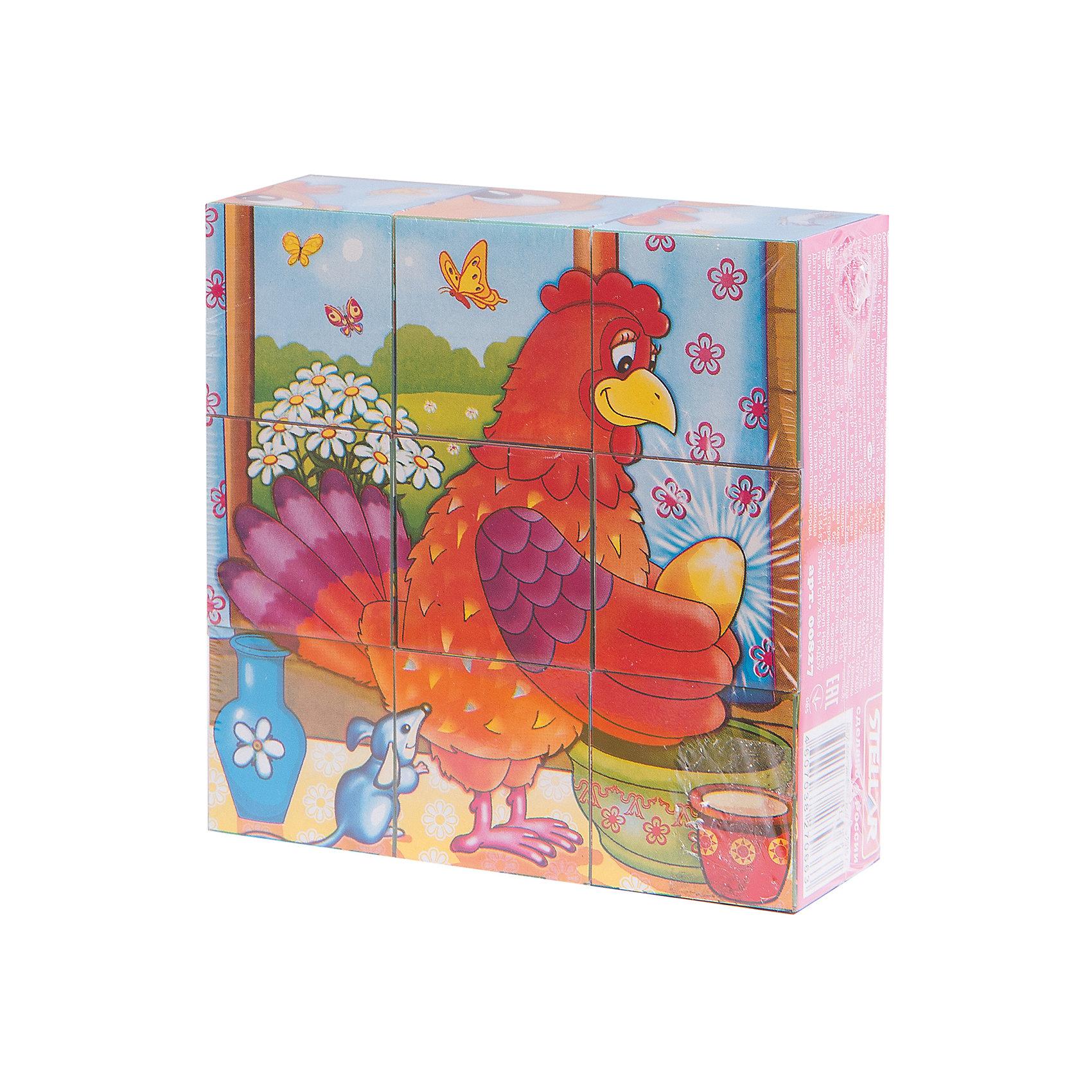Кубики в картинках 27 (персонажи сказок), СтелларКубики<br>Набор из 9 кубиков на тему Персонажи сказок от Стеллар (Stellar) — увлекательная игра для Вашего ребенка. На каждую грань кубиков наклеены бумажные красочные картинки. Из изображений на кубиках, можно собрать шесть больших сказочных картинок: <br>- Баба Яга<br>- Колобок<br>- Кот в Сапогах<br>- Маугли<br>- Снеговик<br>- Курочка Ряба.<br><br>Игра с такими кубиками позволить тренировать память, внимание и мелкую моторику рук.<br><br>Набор кубиков «Персонажи сказок» надолго увлечет Вашего ребенка!<br><br>Дополнительная информация:<br><br>- В комплекте: 9 кубиков<br>- Материал: полистирол, бумага<br>- Размер кубика: 40 х 40 х 40 мм<br>- Собираемой картинки: 120 х 120 мм<br>- Размер упаковки: 120 х 120 х 40 мм<br>- Вес: 150 г.<br><br>Кубики в картинках 27 (персонажи сказок) от Стеллар (Stellar) можно купить в нашем интернет-магазине.<br><br>Ширина мм: 120<br>Глубина мм: 120<br>Высота мм: 40<br>Вес г: 147<br>Возраст от месяцев: 36<br>Возраст до месяцев: 60<br>Пол: Унисекс<br>Возраст: Детский<br>SKU: 2407045