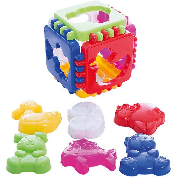 Логический куб Веселые зверята, СтелларРазвивающие игрушки<br>Логический кобик из шести цветных пластин-пазлов от Стеллар. <br><br>На каждой пластине есть отверстие для одной из фигурок животных. Фигурки можно использовать как формочки. <br><br>Эта развивающая игрушка поможет ребенку не только узнавать различных животных, но со временем освоить все основные цвета.<br><br>Категории развития:<br>- Мелкая моторика, сенсорика, координация движений,<br>- Пространственное восприятие,<br>- Развитие логики, мышления, воображения,<br>- Математика, счет, математические понятия,<br>- Сюжетные и групповые игры,<br>- Эмоциональное развитие,<br>- Творческое развитие,<br>- Тактильное развитие,<br>- Знакомство с окружающим миром<br><br>Дополнительная информация:<br><br>Размер куба: 10,5 х 10,5 х 10,5 см.<br>Упаковка: пакет с ручкой.<br>Материал: высококачественный пластик.<br><br>Ширина мм: 100<br>Глубина мм: 100<br>Высота мм: 100<br>Вес г: 141<br>Возраст от месяцев: 12<br>Возраст до месяцев: 36<br>Пол: Унисекс<br>Возраст: Детский<br>SKU: 2407063