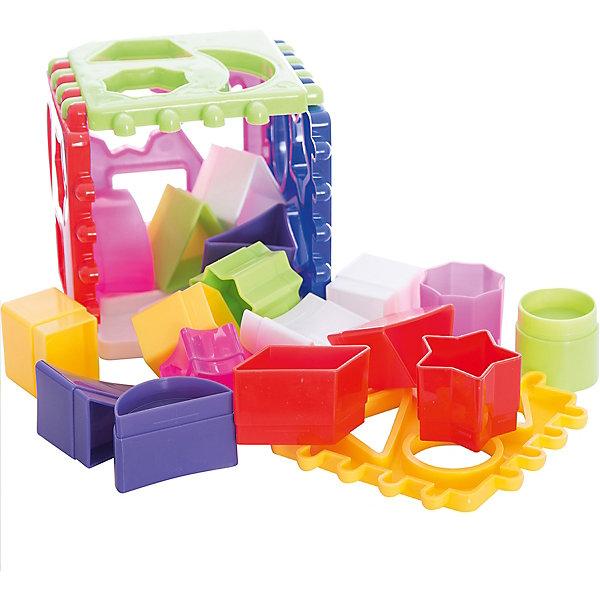 Логический куб, СтелларРазвивающие игрушки<br>Развивающая игра Логический куб от Стеллар (Stellar)  - сортировщик с множеством разноцветных фигурок. Смысл игры – подобрать и вставить фигурки в подходящие отверстия в гранях кубика. Набор состоит из шести пластин из которых можно собрать кубик или другие фигуры, например, призму. В комплект входят 18 фигурок, отличающихся друг от друга цветом, формой, размером, толщиной. <br><br>Играя с логическим кубиком-сортером ребенок развивает моторику, логику и координацию движений.<br><br>Развивающая игра Логический куб не оставит равнодушным ни одного малыша!<br><br>Дополнительная информация:<br><br>- В комплекте: 6 пластинок-сортеров, 18 фигурок<br>- Материал: полипропилен<br>- Размер игрушки: 115 х 115 х 115 мм<br>- Размер упаковки: 120 х 120 х 120 мм<br>- Вес: 280 г.<br><br>Логический куб подарочный от Стеллар (Stellar) можно купить в нашем интернет-магазине.<br><br>Ширина мм: 120<br>Глубина мм: 120<br>Высота мм: 120<br>Вес г: 280<br>Возраст от месяцев: 12<br>Возраст до месяцев: 36<br>Пол: Унисекс<br>Возраст: Детский<br>SKU: 2407064