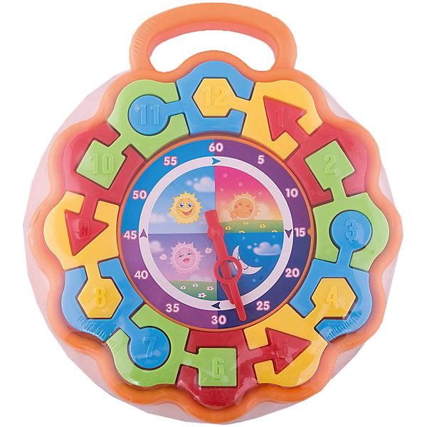 Часики - пазлы, СтелларПособия для обучения счёту<br>Отличная универсальная игрушка. На начальном этапе игры можно просто собирать цветные пазлы обучаясь цвету и форме. Попозже можно рассказать малышу о цифрах (они нанесены на фигуры) и в завершение научить его пользоваться часами.<br><br>Дополнительная информация:<br><br>Материал: полипропилен<br>Диаметр циферблата: 26,5 см<br>Размер упаковки: 27х30х3,5 см<br><br>Часики - пазлы, Стеллар можно купить в нашем магазине.<br><br>Ширина мм: 300<br>Глубина мм: 270<br>Высота мм: 35<br>Вес г: 320<br>Возраст от месяцев: 12<br>Возраст до месяцев: 60<br>Пол: Унисекс<br>Возраст: Детский<br>SKU: 2407065