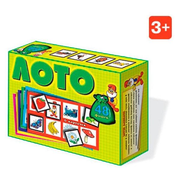 Лото (с картинками на белом фоне), СтелларЛото<br>Классическая русская игра. В набор входят 6 карточек, 48 фишек и мешочек.<br><br>Ширина мм: 165<br>Глубина мм: 125<br>Высота мм: 40<br>Вес г: 230<br>Возраст от месяцев: 36<br>Возраст до месяцев: 1188<br>Пол: Унисекс<br>Возраст: Детский<br>SKU: 2407077