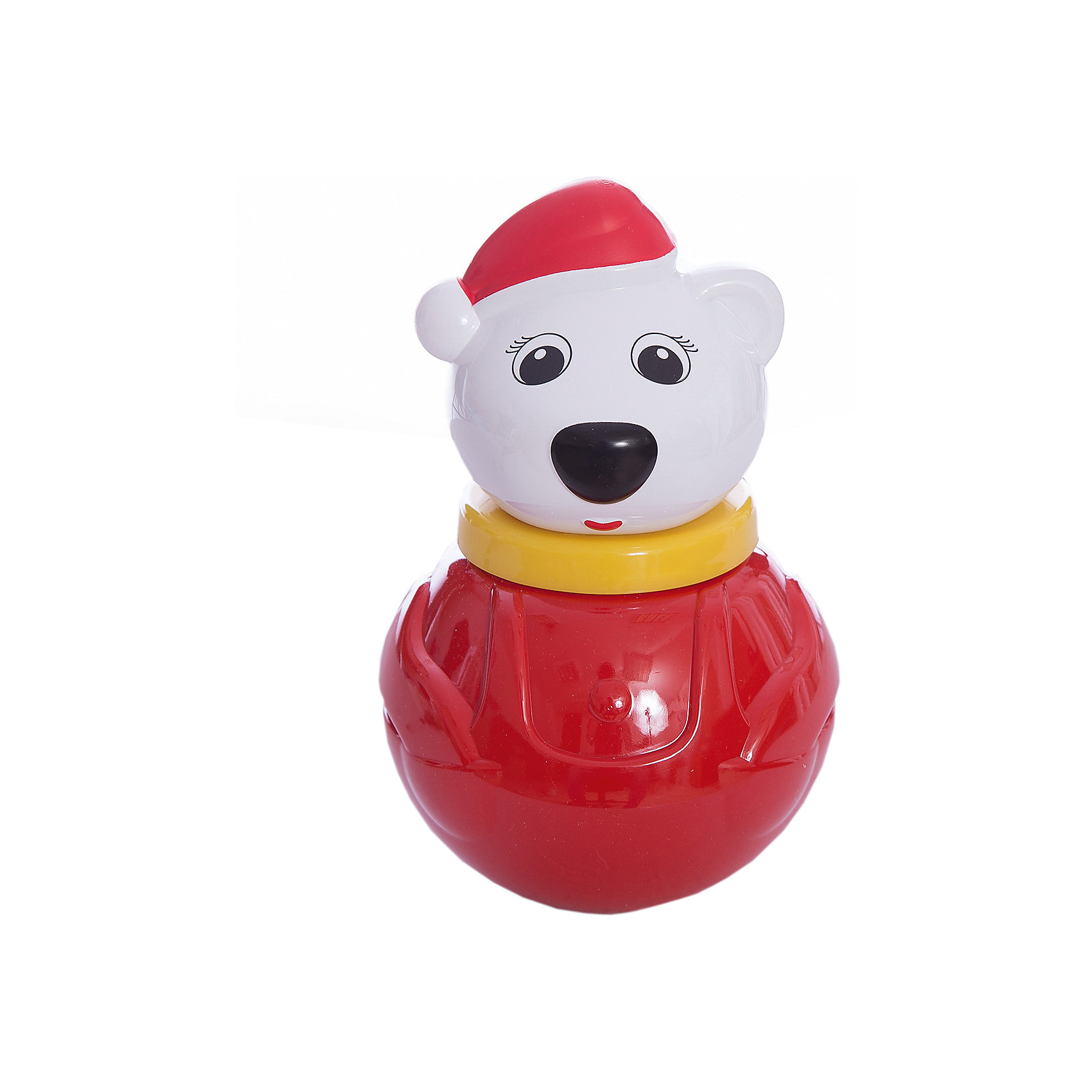 Стеллар Неваляшка  малая Белый медведь-2 коробкаСтеллар Неваляшка малая Белый медведь-2 коробка<br><br>Характеристики:<br><br>• Материал: пластик<br>• Размер: 10х16х10 см<br>• Возраст: от 6 месяцев<br><br>Веселая неваляшка медвежонок развеселит малыша. Как только ребенок начнет укладывать игрушку, она тут же встанет. Яркая расцветка не тускнеет, а качественный материал очень крепкий и полностью безопасен для детей. Миленькая мордочка медвежонка однозначно придется по душе, как девочкам, так и мальчикам.<br><br>Стеллар Неваляшка малая Белый медведь-2 коробка можно купить в нашем интернет-магазине.<br><br>Ширина мм: 115<br>Глубина мм: 115<br>Высота мм: 185<br>Вес г: 200<br>Возраст от месяцев: 24<br>Возраст до месяцев: 60<br>Пол: Унисекс<br>Возраст: Детский<br>SKU: 2407092
