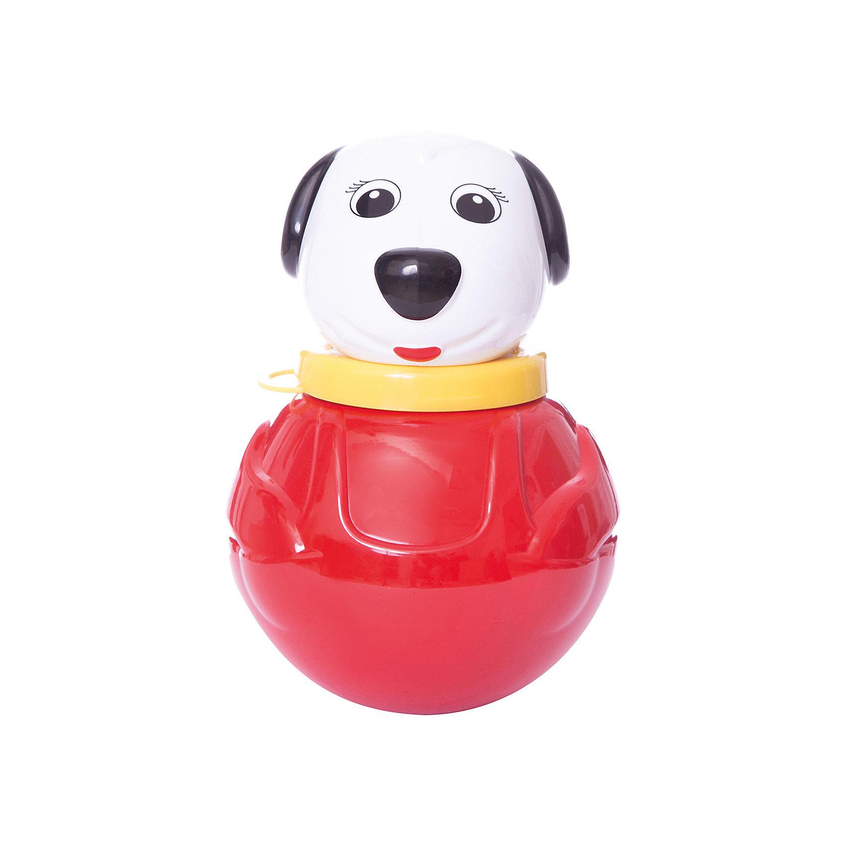 Стеллар Неваляшка  малая Собачка(коробка)Неваляшка  малая Собачка(коробка), Стеллар (Stellar) –  это традиционная неваляшка, выполненная в  виде Собачки. При движении неваляшка «Собачка» издает мелодичное позвякивание. <br>Яркая прочная неваляшка, упакована в картонную подарочную упаковку.<br><br>Игрушка развивает координацию движений, цветовое восприятие, слух.<br><br>Неваляшка «Собачка» Стеллар обязательно порадует Вашего малыша!<br><br>Дополнительная информация:<br><br>- Материал: пластмасса<br>- Высота неваляшки: 18 см.<br>- Размер упаковки: 115 х 115 х 185 мм<br>- Вес: 200 г.<br><br>Игрушку Неваляшку  малая Собачка(коробка), Стеллар (Stellar) можно купить в нашем интернет-магазине.<br><br>Ширина мм: 115<br>Глубина мм: 115<br>Высота мм: 185<br>Вес г: 200<br>Возраст от месяцев: 6<br>Возраст до месяцев: 36<br>Пол: Унисекс<br>Возраст: Детский<br>SKU: 2407093