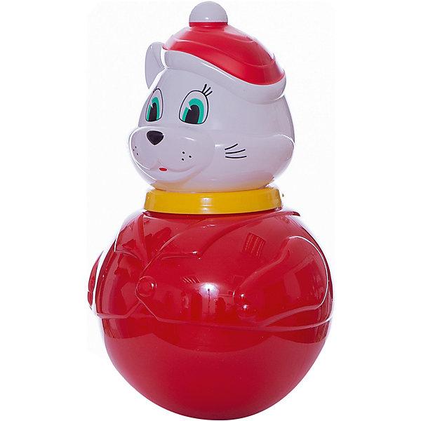 Стеллар Неваляшка большая Кот Мурлыка(коробка)Юлы, неваляшки<br>Стеллар Неваляшка большая Кот Мурлыка (коробка)<br><br>Характеристики:<br><br>• Материал: пластик<br>• Размер: 10х16х10 см<br>• Возраст: от 6 месяцев<br><br>Веселая неваляшка котик развеселит малыша. Как только ребенок начнет укладывать игрушку, она тут же встанет. Яркая расцветка не тускнеет, а качественный материал очень крепкий и полностью безопасен для детей. Миленькая мордочка хитрого кота однозначно придется по душе, как девочкам, так и мальчикам.<br><br>Стеллар Неваляшка большая Кот Мурлыка (коробка) можно купить в нашем интернет-магазине.<br>Ширина мм: 190; Глубина мм: 190; Высота мм: 295; Вес г: 620; Возраст от месяцев: 6; Возраст до месяцев: 36; Пол: Унисекс; Возраст: Детский; SKU: 2407096;
