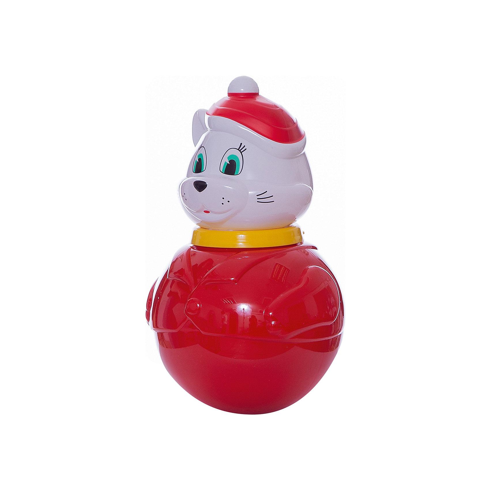 Стеллар Неваляшка большая Кот Мурлыка(коробка)Юлы, неваляшки<br>Стеллар Неваляшка большая Кот Мурлыка (коробка)<br><br>Характеристики:<br><br>• Материал: пластик<br>• Размер: 10х16х10 см<br>• Возраст: от 6 месяцев<br><br>Веселая неваляшка котик развеселит малыша. Как только ребенок начнет укладывать игрушку, она тут же встанет. Яркая расцветка не тускнеет, а качественный материал очень крепкий и полностью безопасен для детей. Миленькая мордочка хитрого кота однозначно придется по душе, как девочкам, так и мальчикам.<br><br>Стеллар Неваляшка большая Кот Мурлыка (коробка) можно купить в нашем интернет-магазине.<br><br>Ширина мм: 190<br>Глубина мм: 190<br>Высота мм: 295<br>Вес г: 620<br>Возраст от месяцев: 6<br>Возраст до месяцев: 36<br>Пол: Унисекс<br>Возраст: Детский<br>SKU: 2407096