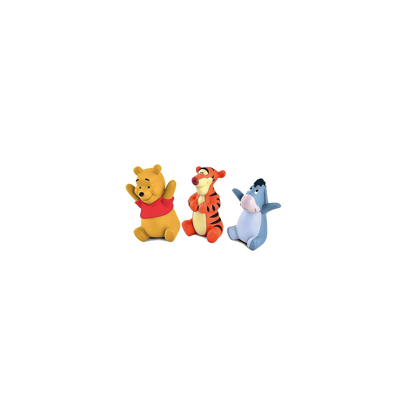 Набор из 3-х фигурок Винни и его друзья, Винни-Пух, TOMY