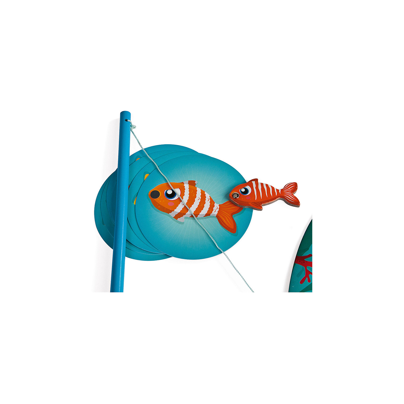 "Настольная магнитная игра ""Рыбалка"", Janod от myToys"