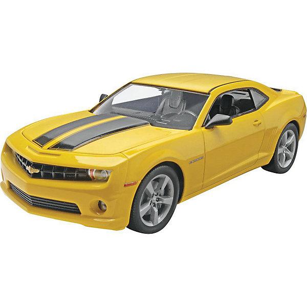 Автомобиль 2010 Camaro SSАвтомобили<br>Характеристики товара:<br><br>• возраст: от 10 лет;<br>• масштаб: 1:25;<br>• количество деталей: 115 шт;<br>• материал: пластик;<br>• клей и краски в комплект не входят;<br>• длина модели: 19,4 см;<br>• бренд, страна бренда: Revell (Ревел),Германия;<br>• страна-изготовитель: Германия.<br><br>Сборная модель для склеивания «Автомобиль 2010 Camaro SS» поможет вам и вашему ребенку придумать увлекательное занятие на долгое время и получить хорошую игрушку.<br><br>Набор включает в себя 115 пластиковых элементов из которых можно собрать невероятно реалистичную машинку. В комплект также входит схематичная инструкция. Собранный автомобиль имеет прекрасно проработанный салон и реалистичную детализацию.<br><br>Процесс сборки развивает интеллектуальные и инструментальные способности, воображение и конструктивное мышление, а также прививает практические навыки работы со схемами и чертежами. <br>Обращаем ваше внимание на тот факт, что для сборки этой модели клей, кисточки и краски в комплект не входят. <br><br>Сборную модель для склеивания «Автомобиль 2010 Camaro SS», 115 дет., Revell (Ревел) можно купить в нашем интернет-магазине.<br>Ширина мм: 212; Глубина мм: 351; Высота мм: 66; Вес г: 420; Возраст от месяцев: 96; Возраст до месяцев: 1188; Пол: Мужской; Возраст: Детский; SKU: 2410631;