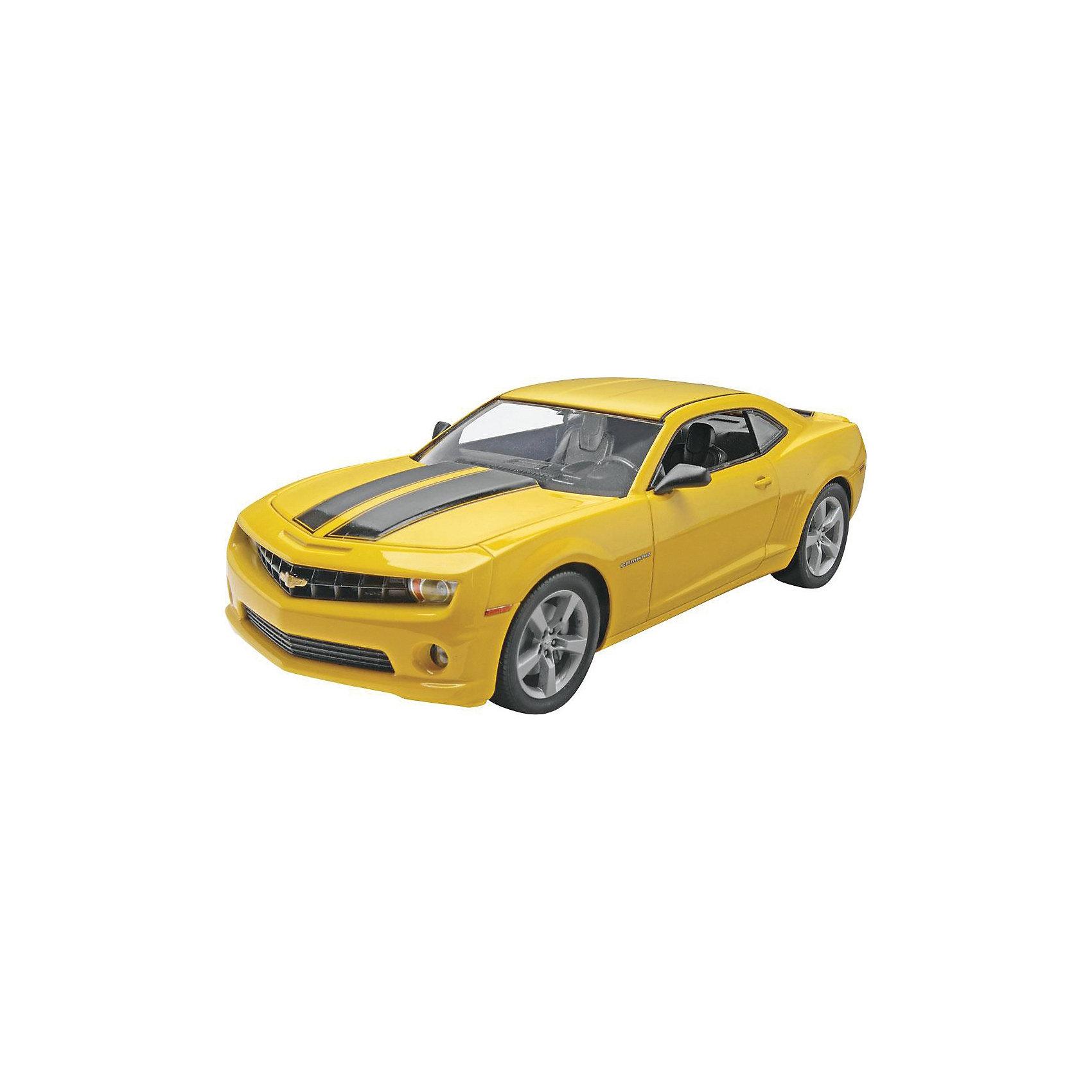 Автомобиль 2010 Camaro SSМодели для склеивания<br>Сборная модель спортивного автомобиля Camaro SS 2010 года выпуска. <br>Масштаб: 1:25 <br>Количество деталей: 115 <br>Длина модели: 194 мм <br>Уровень сложности: 3 <br>Краски и клей в комплект не входят.<br><br>Ширина мм: 212<br>Глубина мм: 351<br>Высота мм: 66<br>Вес г: 420<br>Возраст от месяцев: 96<br>Возраст до месяцев: 1188<br>Пол: Мужской<br>Возраст: Детский<br>SKU: 2410631