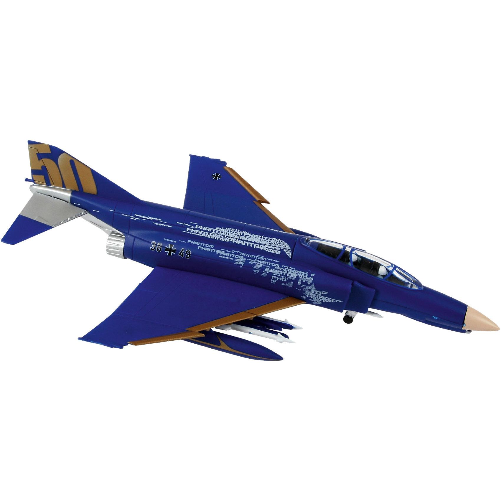 Сборка Самолет Истребитель F-4 PhantomМодели для склеивания<br>Масштаб: 1:200; <br><br>Количество деталей: 29 шт.; <br><br>Длина модели: 190 мм.; <br><br>Размах крыльев: 120 мм; <br><br>Подойдет для детей старше 10-и лет. <br><br>Модель самолета F-4 Phantom является уменьшенной копией одноименного боевого истребителя, впервые выпущенного  в 1958 году. <br><br>Технические характеристики настоящего самолета:  <br><br>Мощность двигателя: 2х8120 kp; <br><br>Максимальная скорость 2414 км/ч. <br><br>Для сборки этой модели клей и краски вам не потребуются, соединение деталей происходит посредством специальных зажимов!<br><br>Ширина мм: 245<br>Глубина мм: 154<br>Высота мм: 44<br>Вес г: 123<br>Возраст от месяцев: 72<br>Возраст до месяцев: 132<br>Пол: Мужской<br>Возраст: Детский<br>SKU: 2412658
