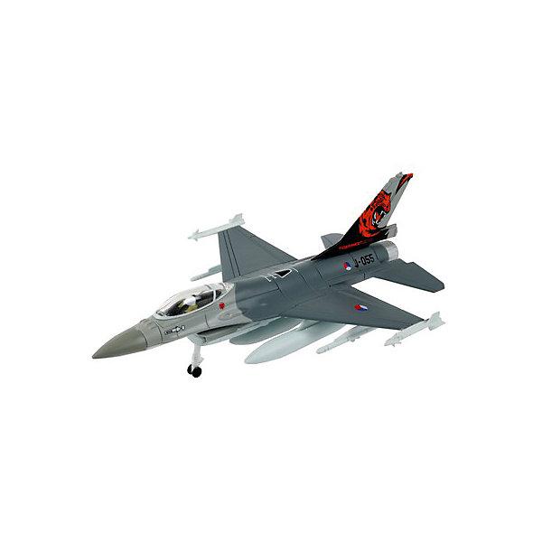 Сборка Самолет Истребитель F-16 Fighting FalconСамолеты и вертолеты<br>Характеристики товара:<br><br>• возраст: от 6 лет;<br>• масштаб: 1:200;<br>• количество деталей: 21 шт;<br>• материал: пластик; <br>• клей и краски в комплект не входят;<br>• габариты модели: 14х10 см;<br>• бренд, страна бренда: Revell (Ревел),Германия;<br>• страна-изготовитель: Польша.<br><br>Сборная модель «Самолет Истребитель F-16 Fighting Falcon» поможет вам и вашему ребенку придумать увлекательное занятие на долгое время и получить игрушку в виде настоящего боевого истребителя.<br><br>Набор включает в себя 21 пластиковых элементов и подробную инструкцию. Все детали предварительно окрашены, а сама модель собирается без клея, при помощи специальных зажимов. Готовый истребитель украсит стол или книжную полку ребенка. <br><br>Процесс сборки развивает интеллектуальные и инструментальные способности, воображение и конструктивное мышление, а также прививает практические навыки работы со схемами и чертежами.<br><br>Сборную модель «Самолет Истребитель F-16 Fighting Falcon», 21 дет., Revell (Ревел) можно купить в нашем интернет-магазине.<br>Ширина мм: 311; Глубина мм: 183; Высота мм: 46; Вес г: 140; Возраст от месяцев: 96; Возраст до месяцев: 1188; Пол: Мужской; Возраст: Детский; SKU: 2412659;