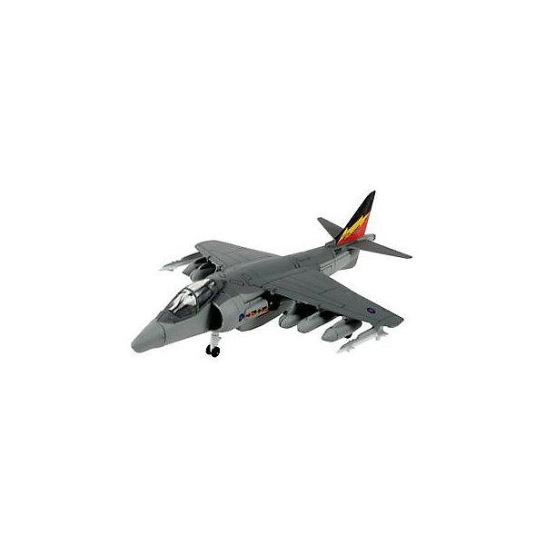 Сборка Самолет Штурмовик Hawker Harrier, британскийСамолеты и вертолеты<br>Характеристики товара:<br><br>• возраст: от 6 лет;<br>• масштаб: 1:200;<br>• количество деталей: 35 шт;<br>• материал: пластик;<br>• клей и краски в комплект не входят;<br>• габариты модели: 14х9,3 см;<br>• бренд, страна бренда: Revell (Ревел),Германия;<br>• страна-изготовитель: Польша.<br><br>Сборная модель «Самолет Штурмовик Hawker Harrier» поможет вам и вашему ребенку придумать увлекательное занятие на долгое время и получить игрушку в виде настоящего боевого самолет.<br><br>Набор включает в себя 21 пластиковых элементов и подробную инструкцию. Все детали предварительно окрашены, а сама модель собирается без клея, при помощи специальных зажимов. Готовый самолет украсит стол или книжную полку ребенка. <br><br>Процесс сборки развивает интеллектуальные и инструментальные способности, воображение и конструктивное мышление, а также прививает практические навыки работы со схемами и чертежами.<br><br>Сборную модель «Самолет Штурмовик Hawker Harrier», 35 дет., Revell (Ревел) можно купить в нашем интернет-магазине.<br><br>Ширина мм: 243<br>Глубина мм: 158<br>Высота мм: 40<br>Вес г: 150<br>Возраст от месяцев: 96<br>Возраст до месяцев: 1188<br>Пол: Мужской<br>Возраст: Детский<br>SKU: 2412660