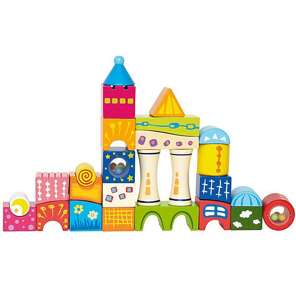 Конструктор Замок, HapeДеревянные конструкторы<br>Конструктор Замок от Hape - красивый и высококачественный деревянный конструктор, который наверняка понравится вашему малышу.<br><br>Конструктор состоит из ярких блоков различной формы, предлагая малышу множество игр и широкие возможности для творчества.<br><br>Выстраивая домики и пирамидки, складывая кубики по цветам и формам, малыш развивает навыки мелкой моторики и воображение, учится мыслить логически. <br><br>Дополнительная информация:<br><br>- Рекомендован для детей от 2-х лет. <br>- Размер упаковки: 42 х 9 х 18 см<br>- Размеры деталей: 4.8х4.8х4.8 см<br>- Количество деталей: 26 шт.<br>- Вес: 1,1 кг<br><br>Конструктор Замок, Hape можно купить в нашем интернет-магазине.<br>Ширина мм: 90; Глубина мм: 420; Высота мм: 180; Вес г: 1333; Возраст от месяцев: 24; Возраст до месяцев: 60; Пол: Унисекс; Возраст: Детский; SKU: 2416602;