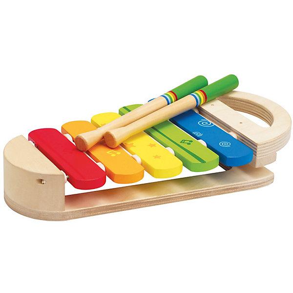 Ксилофон Радуга, HapeКсилофоны<br>Яркий ксилофон Радуга поможет развить Вашему ребенку музыкальный слух и чувство ритма. Стуча палочками, малыш будет развивать координацию движений и звуковое восприятие, а также крупную моторику. Ксилофон имеет компактный размер и удобную ручку, с помощью которой его удобно брать с собой.<br><br>Дополнительная информация:<br><br>- Возраст: от 1 до 4 лет<br>- Материал: пластик, дерево<br>- Размеры: 24х14х4 см<br>- Вес: 0.6 кг<br><br>Ксилофон Радуга, Hape можно купить в нашем интернет-магазине.<br>Ширина мм: 284; Глубина мм: 200; Высота мм: 93; Вес г: 544; Возраст от месяцев: 12; Возраст до месяцев: 36; Пол: Унисекс; Возраст: Детский; SKU: 2416652;