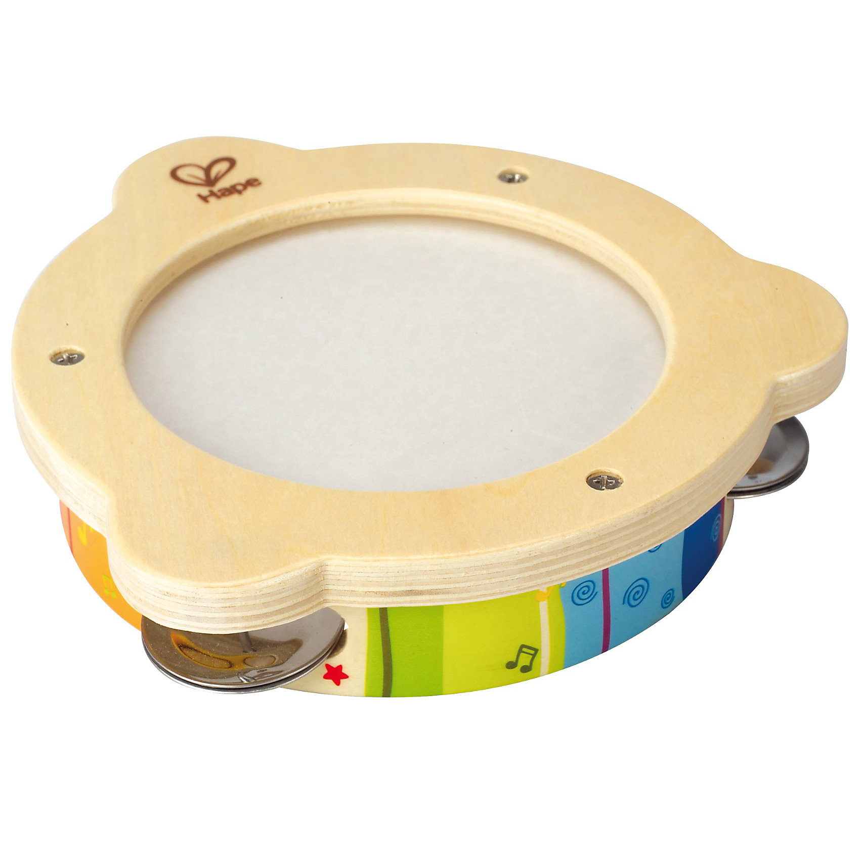 Игрушка Бубен, HapeС помощью этой музыкальной игрушки ребенок сможет без труда создавать всевозможные звуки и задавать темп игры. При движении, на бубне перекатываются разноцветные пластинки, издавая ритмичный звук.<br>Игра на этом инструменте поможет развить музыкальный слух, и координацию движений рук ребенка.<br><br>Дополнительная информация:<br><br>- Возраст: от 1 до 5 лет<br>- Материал: пластик, дерево<br>- Размеры: 17х17х3 см<br>- Вес: 0.1 кг<br><br>Игрушку Бубен, Hape можно купить в нашем интернет-магазине.<br><br>Ширина мм: 185<br>Глубина мм: 182<br>Высота мм: 66<br>Вес г: 231<br>Возраст от месяцев: 12<br>Возраст до месяцев: 36<br>Пол: Унисекс<br>Возраст: Детский<br>SKU: 2416653