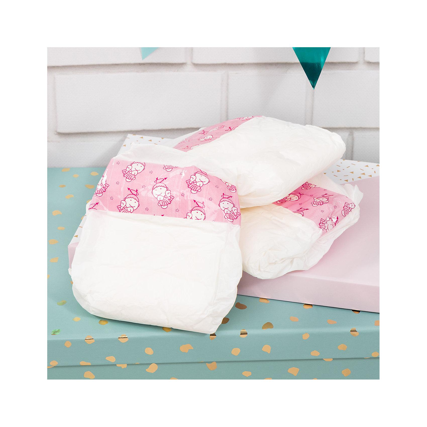 Памперсы для куклы Bayer, 3 шт от myToys