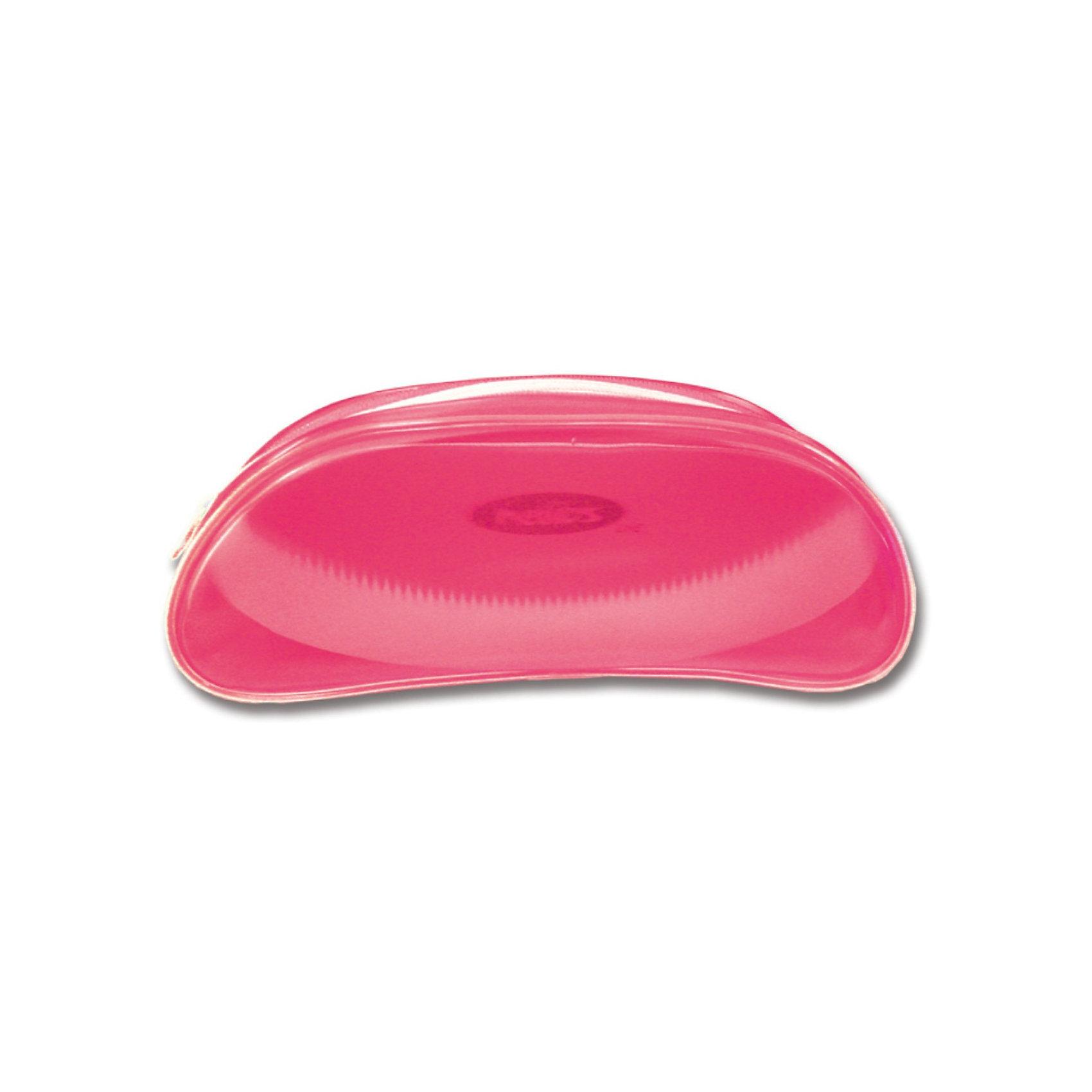 School Point Пенал овальный розовый Helios