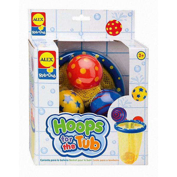 Игра для ванной Мячики в сеткеИгрушки для ванной<br>Игра для ванной Мячики в сетке<br><br>Характеристики:<br><br>- Цвет: разноцветный;<br>- Материал: пластик;<br>- В наборе: баскетбольная сетка на присосках, 3 разноцветных мячика с веселым рисунком. <br><br>Игра для ванной Мячики в сетке – это прекрасный игровой набор. Набор состоит из баскетбольной сетки, крепящейся на присосках  к стене и трех разноцветных мячиков с веселым принтом. С таким набором можно устроить веселую игру во время купания. <br><br>Игру для ванной Мячики в сетке можно купить в нашем интернет – магазине.<br><br>Ширина мм: 237<br>Глубина мм: 182<br>Высота мм: 96<br>Вес г: 265<br>Возраст от месяцев: 12<br>Возраст до месяцев: 36<br>Пол: Унисекс<br>Возраст: Детский<br>SKU: 2422323