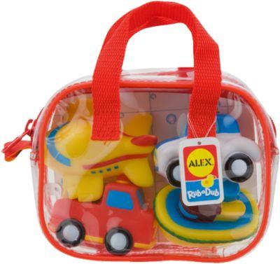 ALEX Игрушки для ванной Транспорт