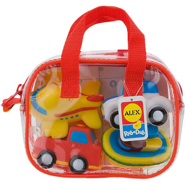 Игрушки для ванной ТранспортИгрушки для ванной<br>Игрушки для ванны Транспорт замечательная игра для ванной. <br>Яркие игрушки для ванной из набора Транспорт станут отличным развлечением для вашего малыша!<br>В наборе 4 веселые разноцветные игрушки брызгалки: самолетик, пароход, пожарная машинка, полицейская машинка. Плавают в воде. Их удобно хранить в пластиковой сумке на молнии, с ручками.<br><br>Дополнительная информация:<br>- Материал: резина<br>- Размеры упаковки: 70х160х125 см<br>- Вес: 223 г.<br><br>Игрушка для ванной Транспорт станет отличным подарком для Вашего ребенка.<br><br>Игрушку для ванной Транспорт можно купить в нашем интернет-магазине.<br><br>Ширина мм: 181<br>Глубина мм: 137<br>Высота мм: 71<br>Вес г: 166<br>Возраст от месяцев: 12<br>Возраст до месяцев: 36<br>Пол: Унисекс<br>Возраст: Детский<br>SKU: 2422325