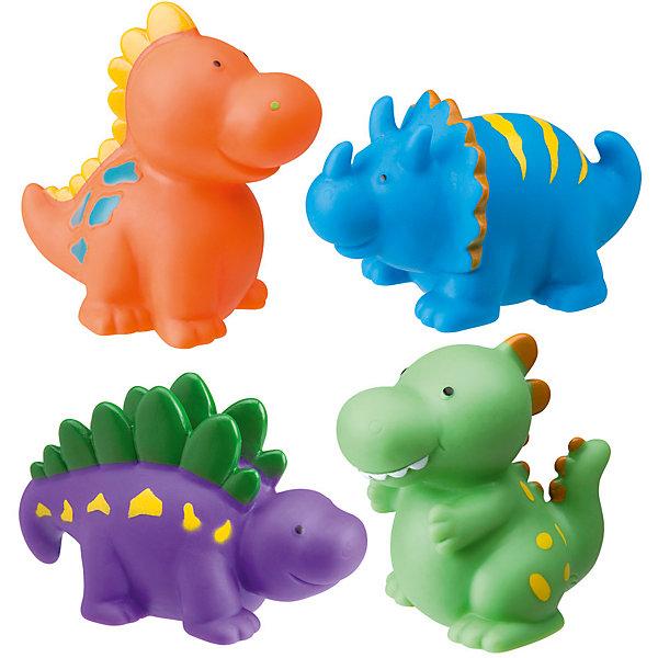 Набор игрушек для ванны Динозаврики, AlexИгрушки для ванной<br>Характеристики товара:<br><br>• возраст от 6 месяцев<br>• материал: резина<br>• в комплекте: 4 игрушки, сумочка<br>• высота игрушки 6 см<br>• игрушки-брызгалки<br>• размер упаковки 13,3х16х5 см<br>• вес упаковки 200 г.<br>• страна бренда: США<br>• страна производитель: США<br><br>Игрушки для ванны «Динозаврики» Alex сделают купание в ванной увлекательным и веселым. Игрушки выполнены в виде цветных динозавриков-пищалок. Если набрать в них и воды и сжать, то брызнет струйка воды. Игрушки изготовлены из экологичной резины. Для хранения предусмотрена удобная пластиковая сумочка с ручками.<br><br>Игрушки для ванны «Динозаврики» Alex 4 предмета можно приобрести в нашем интернет-магазине.<br>Ширина мм: 160; Глубина мм: 125; Высота мм: 65; Вес г: 214; Возраст от месяцев: 6; Возраст до месяцев: 10; Пол: Унисекс; Возраст: Детский; SKU: 2422326;