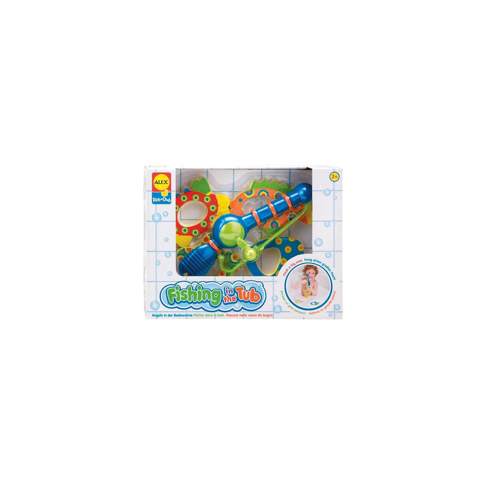 ALEX Набор для ванной Поймай рыбку игрушки для ванной alex игрушки для ванны джунгли