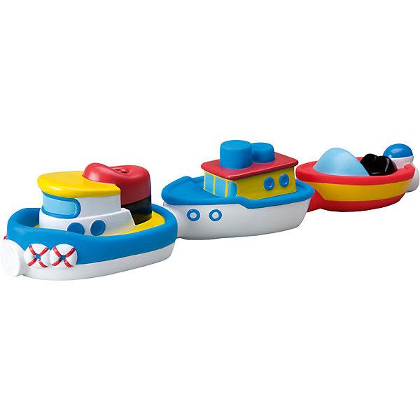 Игрушка для ванны Магнитные лодочки, ALEXИгрушки для ванной<br>Игрушка для ванны Магнитные лодочки, ALEX (АЛЕКС) - эта забавная игрушка развеселит вашего малыша во время купания.<br>Игрушка для ванны Магнитные лодочки от ALEX (АЛЕКС) привлечет внимание вашего малыша и превратит купание в веселую игру! Ведь с тремя яркими лодочками купаться весело и интересно! Внутри лодочек находится магнит, поэтому они могут прицепляться друг к другу и плавать вместе, как на буксире. Игрушка для ванны Магнитные лодочки развивает воображение, цветовосприятие, мелкую моторику, а также помогает ребенку справиться с боязнью воды.<br><br>Дополнительная информация:<br><br>- В наборе: 3 разноцветные лодочки<br>- Материал: пластик<br>- Размер упаковки: 29,9x10x20,3 см.<br><br>Игрушку для ванны Магнитные лодочки, ALEX (АЛЕКС) можно купить в нашем интернет-магазине.<br><br>Ширина мм: 287<br>Глубина мм: 192<br>Высота мм: 94<br>Вес г: 207<br>Возраст от месяцев: 24<br>Возраст до месяцев: 36<br>Пол: Унисекс<br>Возраст: Детский<br>SKU: 2422330