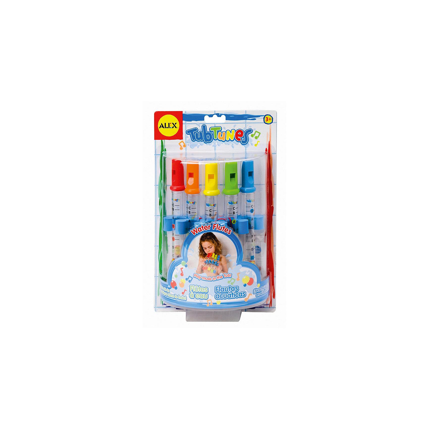 ALEX ALEX Игрушка для ванной Водяные флейты игрушка для ванной alex игрушка для ванной