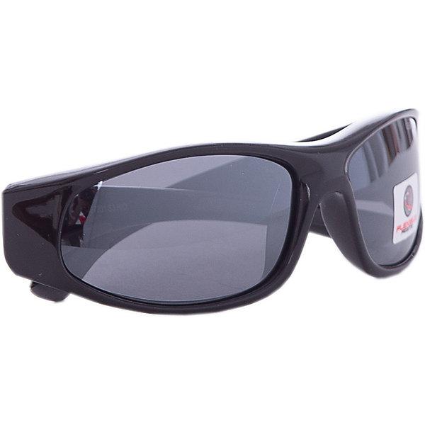 Очки солнцезащитные FLEXXY JUNIOR, черно-серые, ALPINA