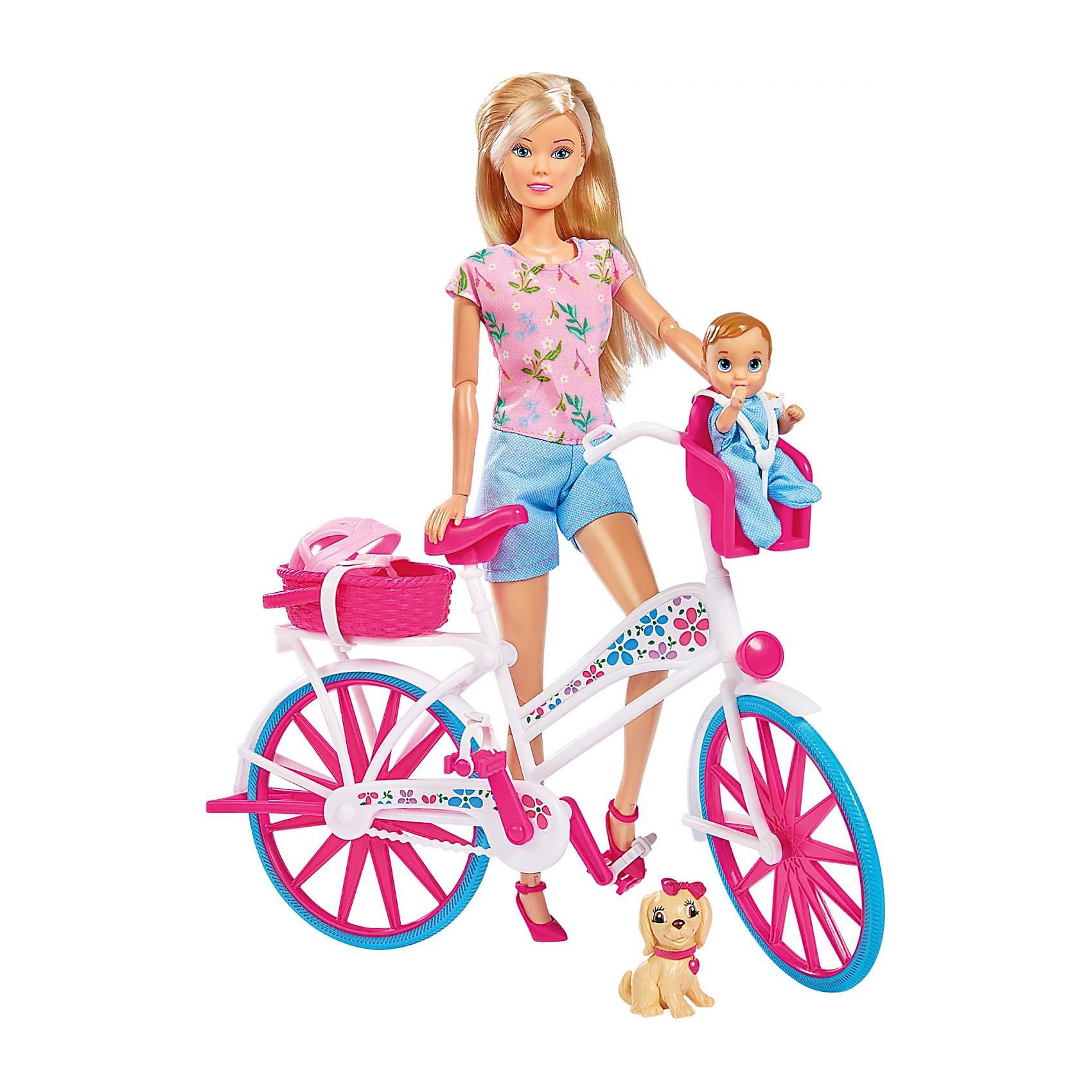 Штеффи на велосипеде, Simba